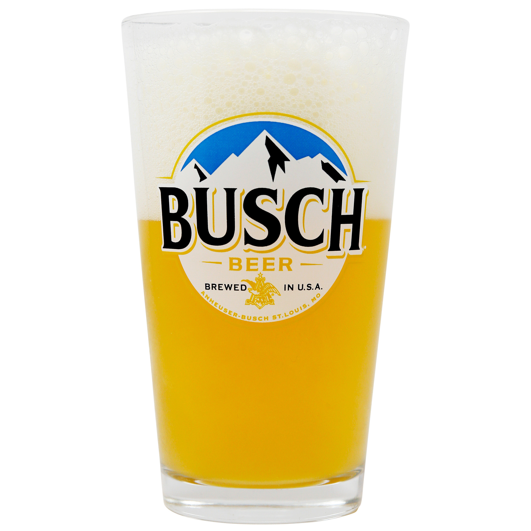 Busch Beer Pint Glass