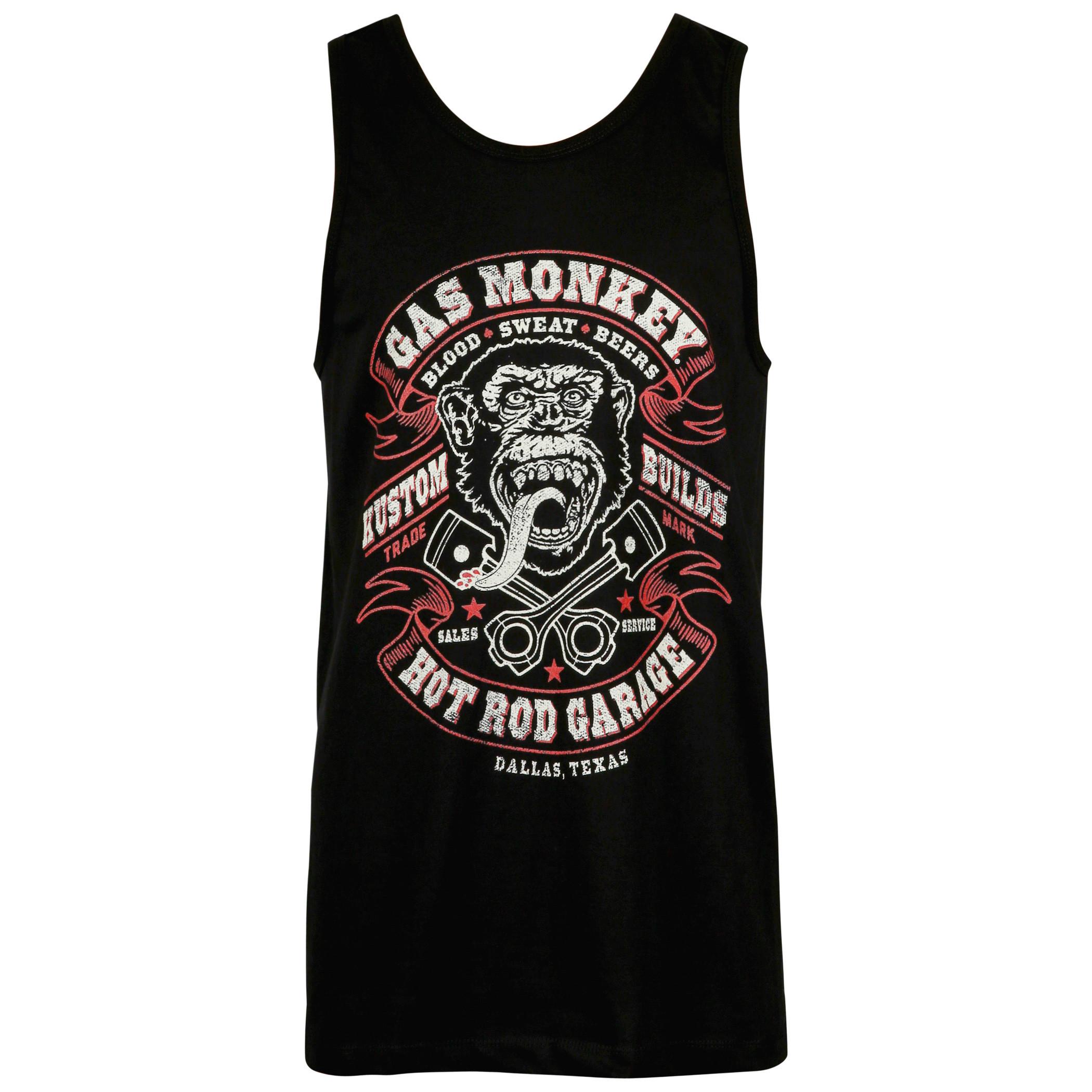 Gas Monkey Garage Black Tank Top