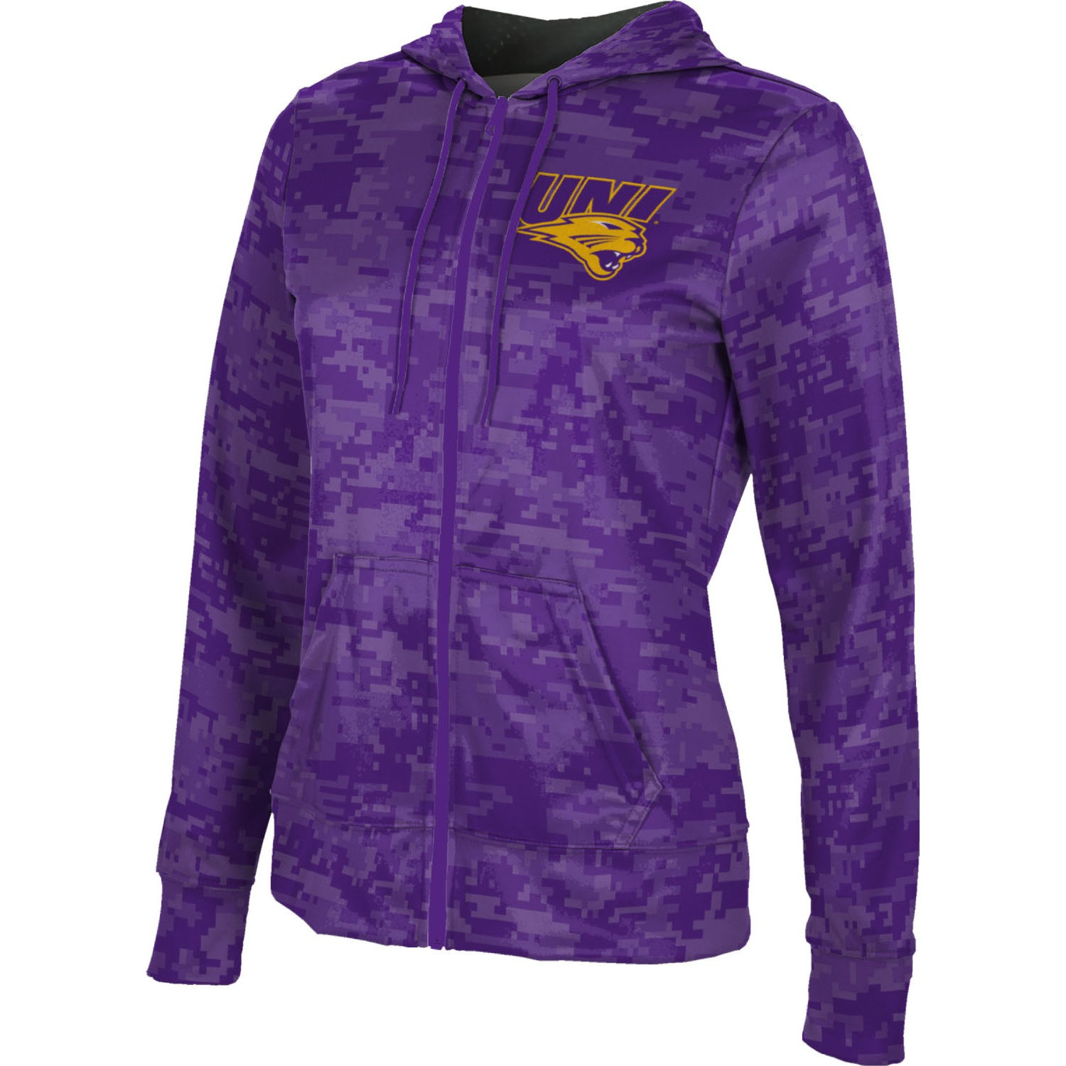 ProSphere Women's University of Northern Iowa Digital Fullzip Hoodie