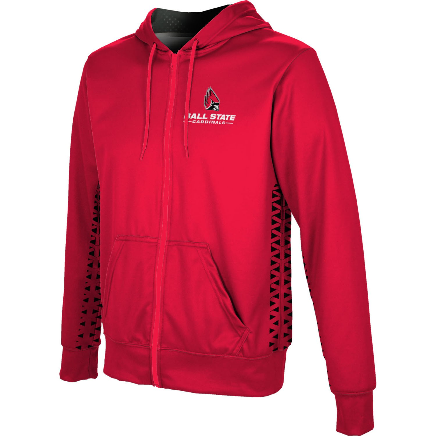 ProSphere Men's Ball State University Geometric Fullzip Hoodie