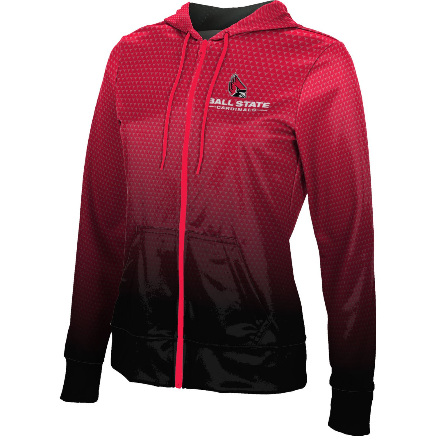 ProSphere Women's Ball State University Zoom Fullzip Hoodie