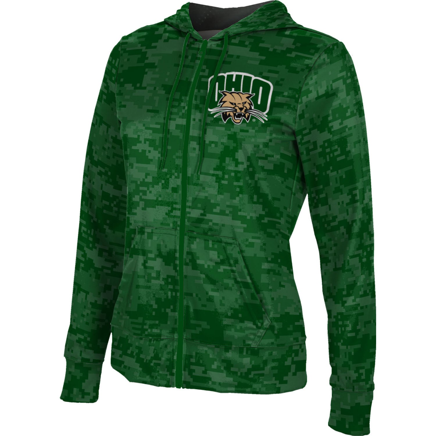ProSphere Women's Ohio University Digital Fullzip Hoodie