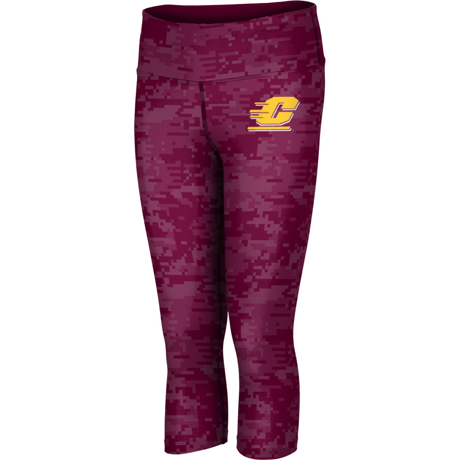 ProSphere Women's Central Michigan University Digital Capri Length Tight