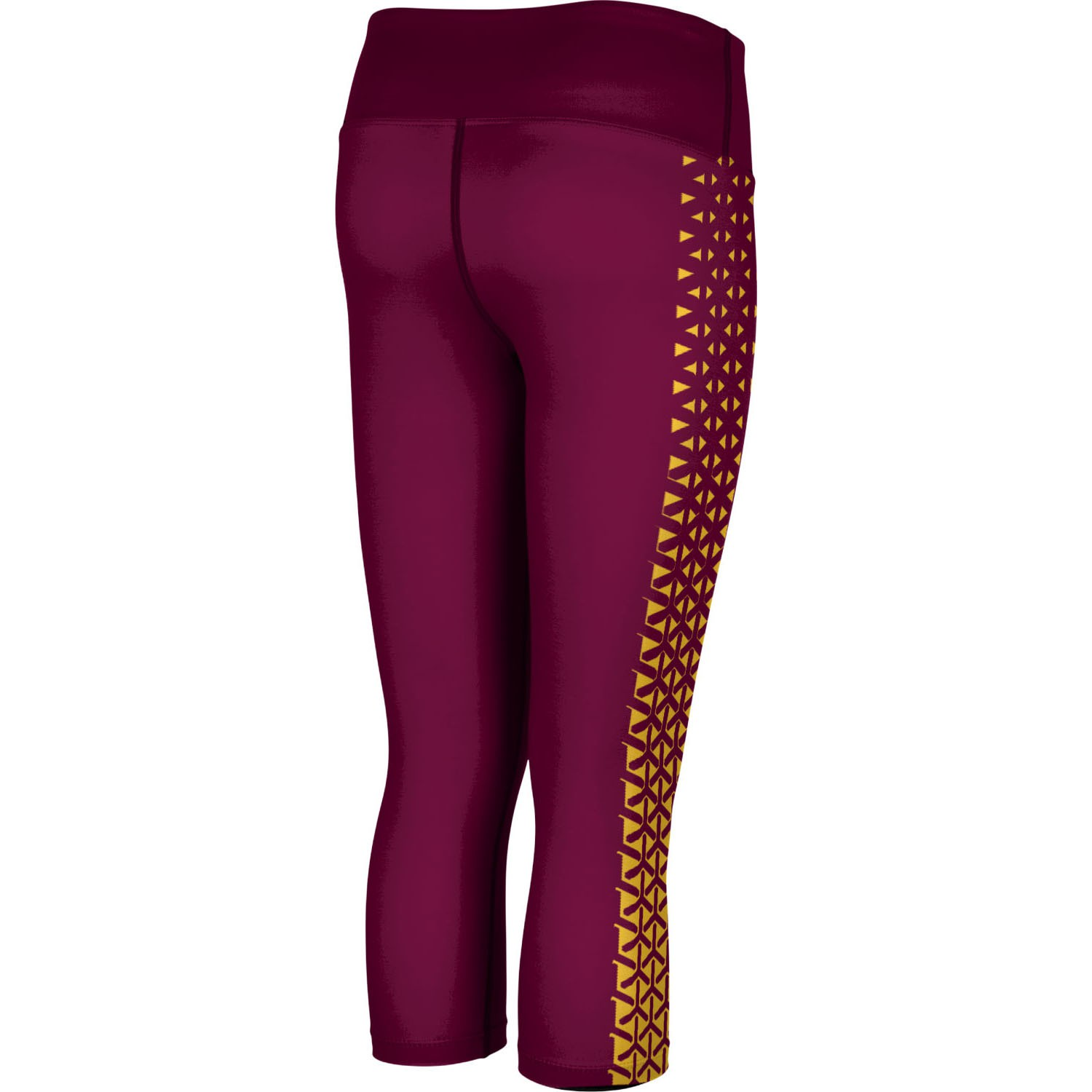 ProSphere Women's Central Michigan University Geometric Capri Length Tight
