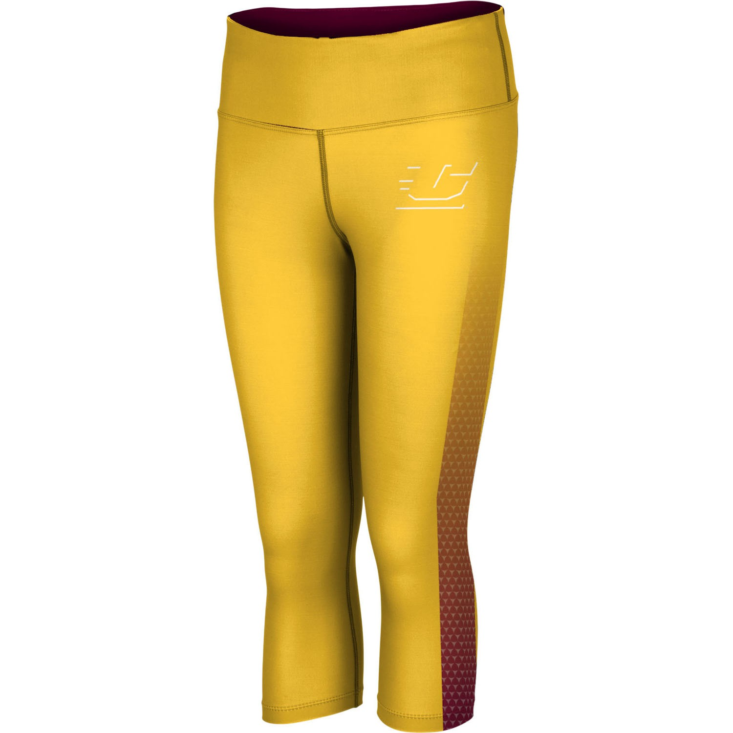 ProSphere Women's Central Michigan University Zoom Capri Length Tight