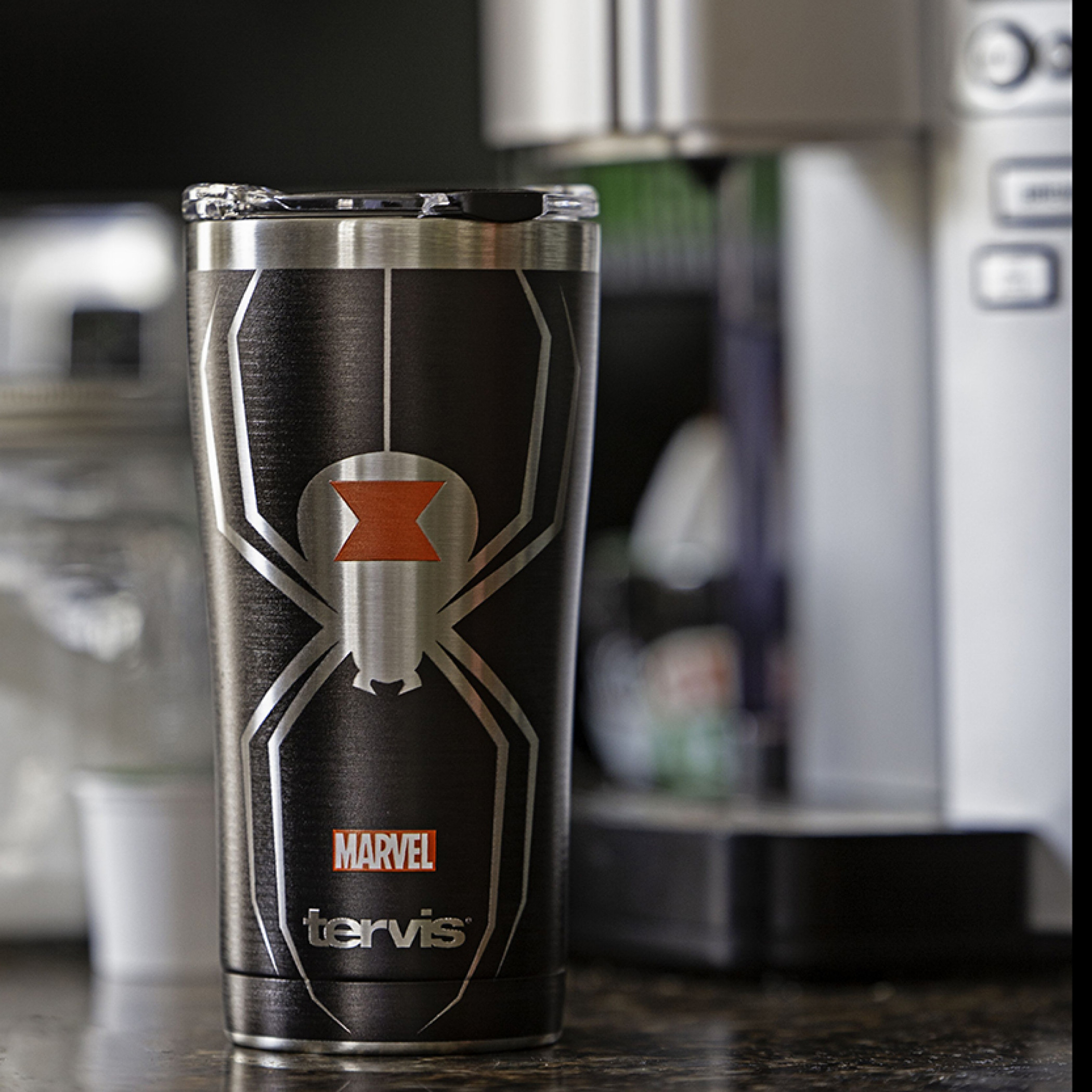 Black Widow 20 Ounce Stainless Steel Tervis® Tumbler Travel Mug