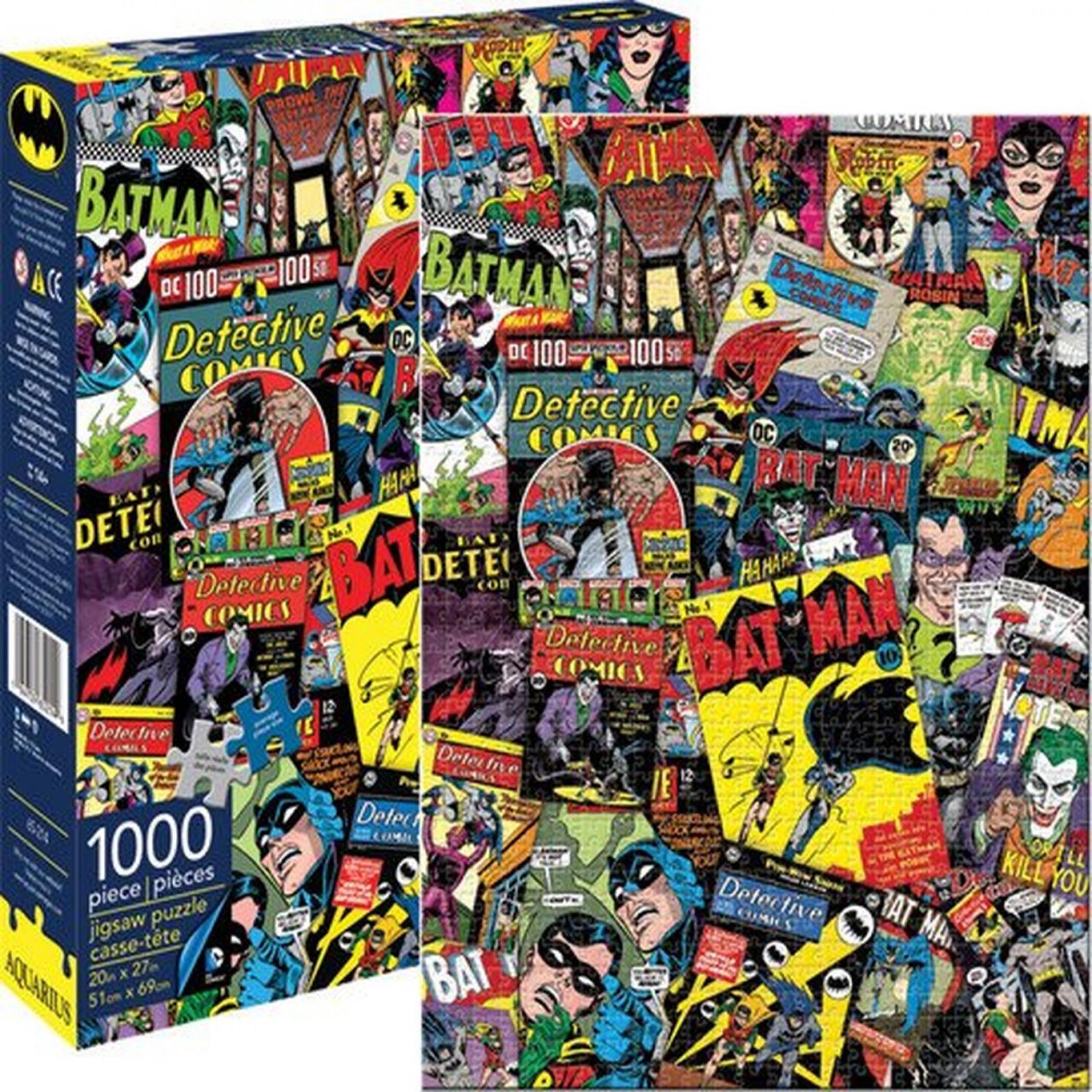 DC Batman Collage 1000 Piece Puzzle