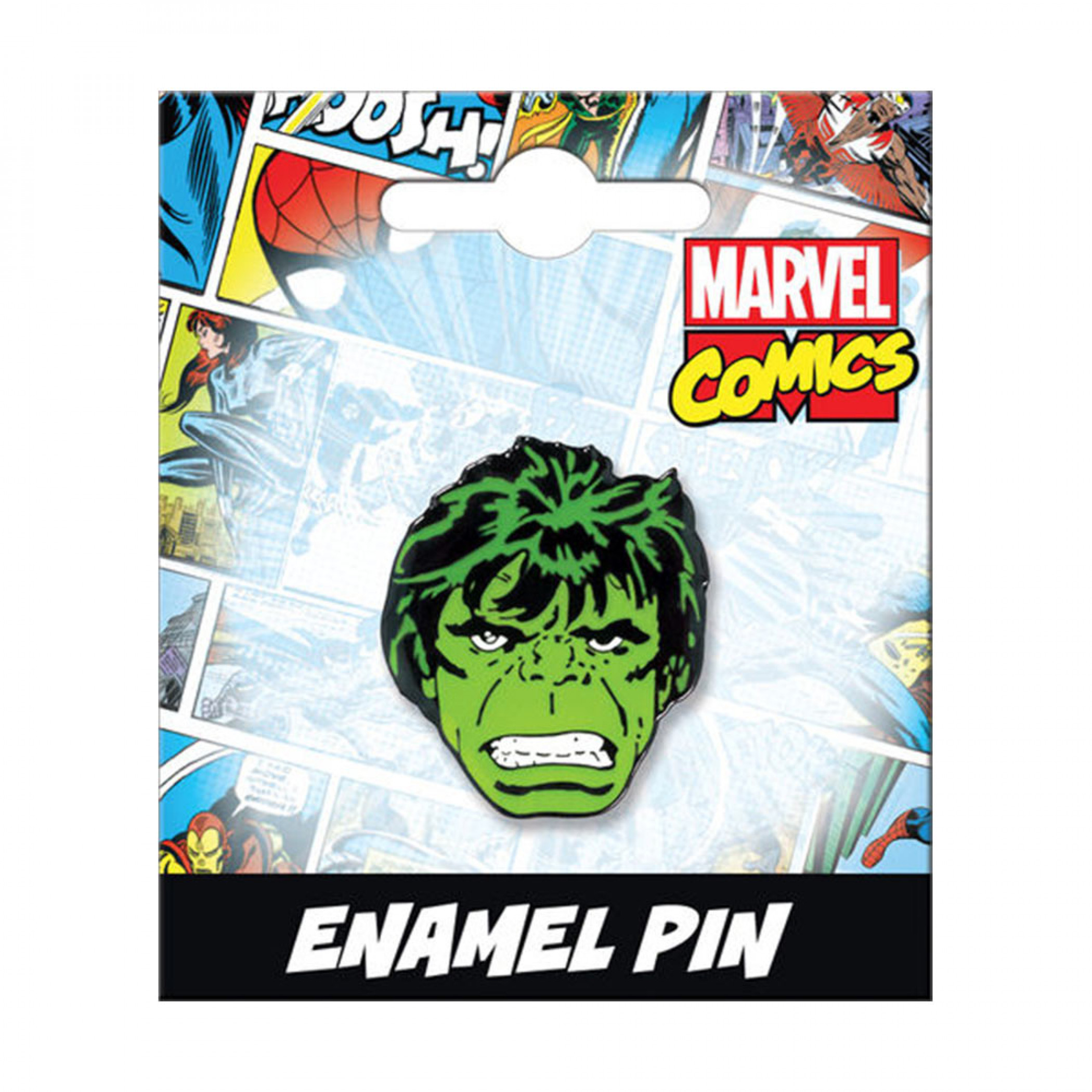 Hulk Retro Enamel Pin