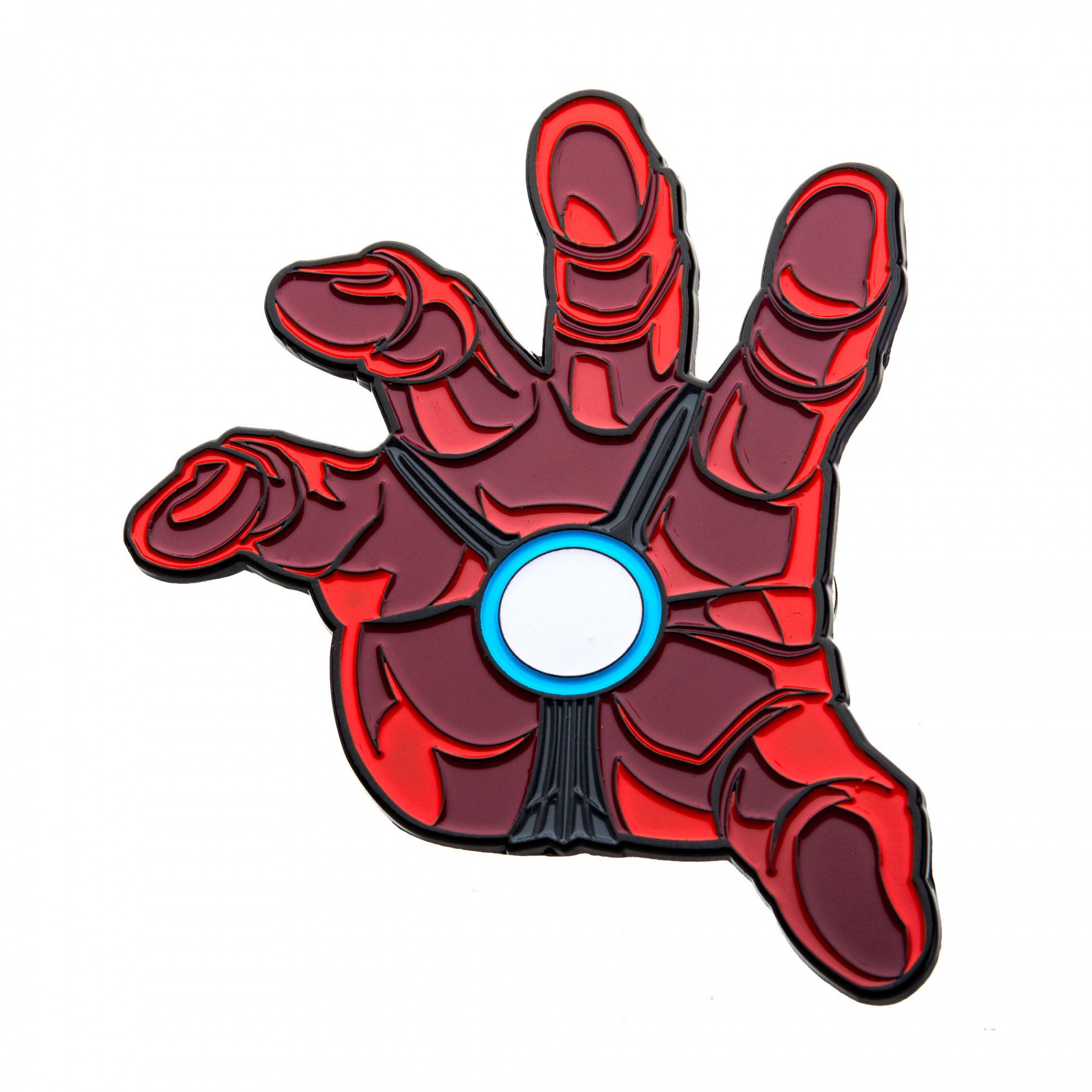 Iron Man Repulsor Glow Pin