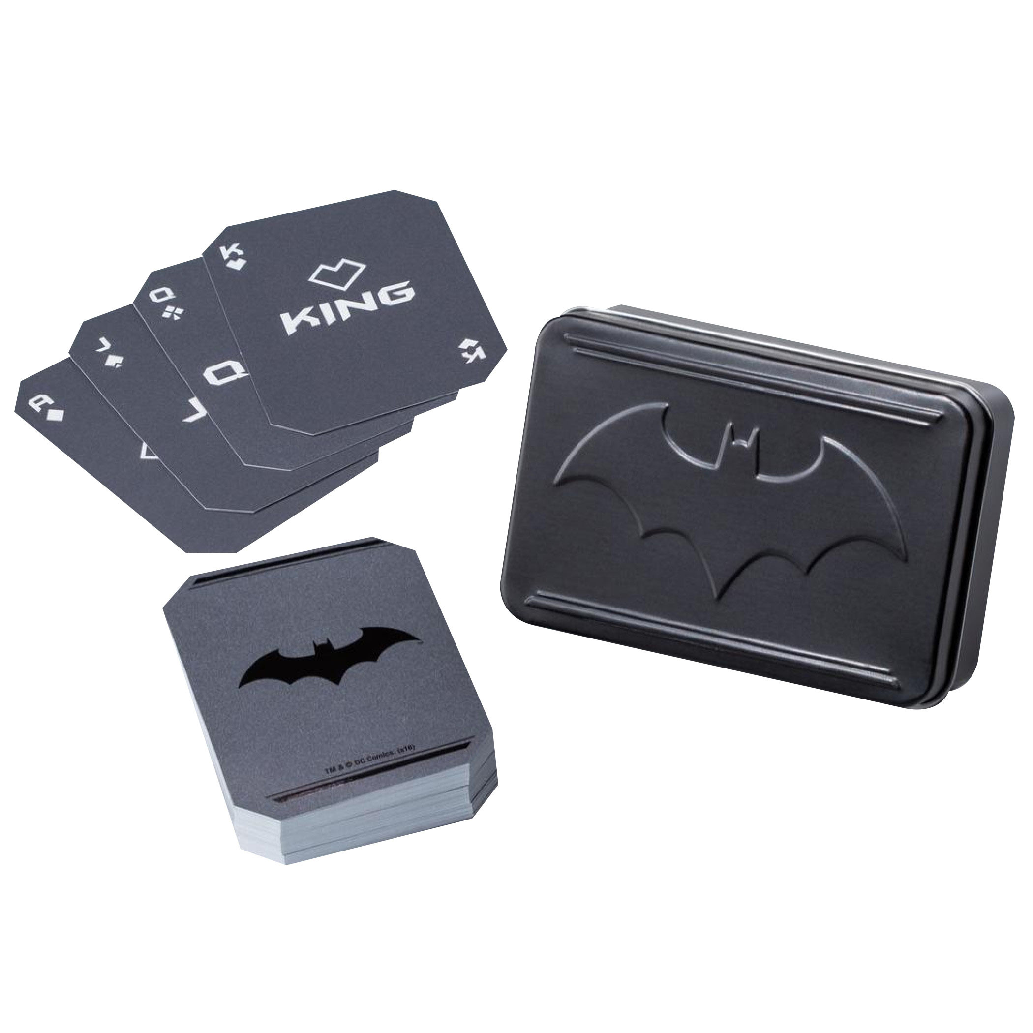 DC Comics Black Batman Playing Cards