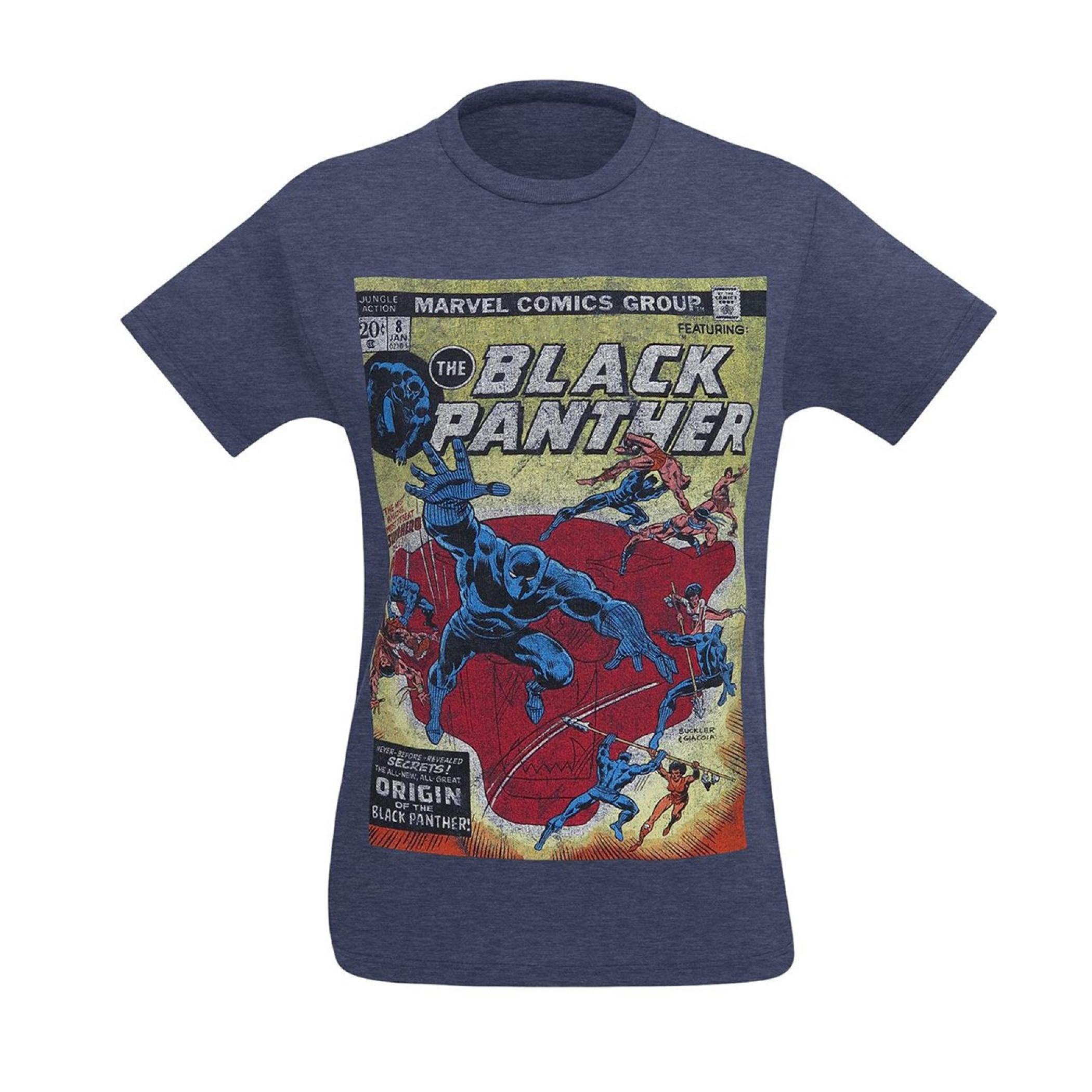 Black Panther Jungle Action #8 Cover Men's T-Shirt