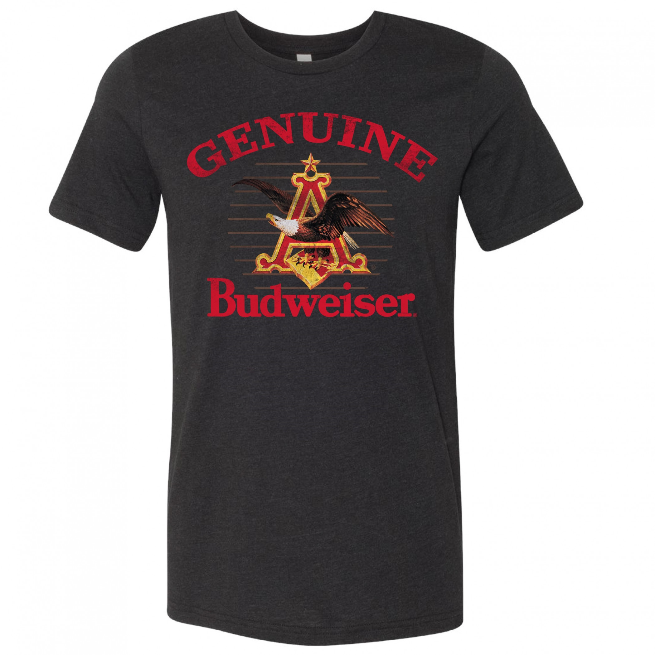 Budweiser Genuine Eagle Logo T-Shirt