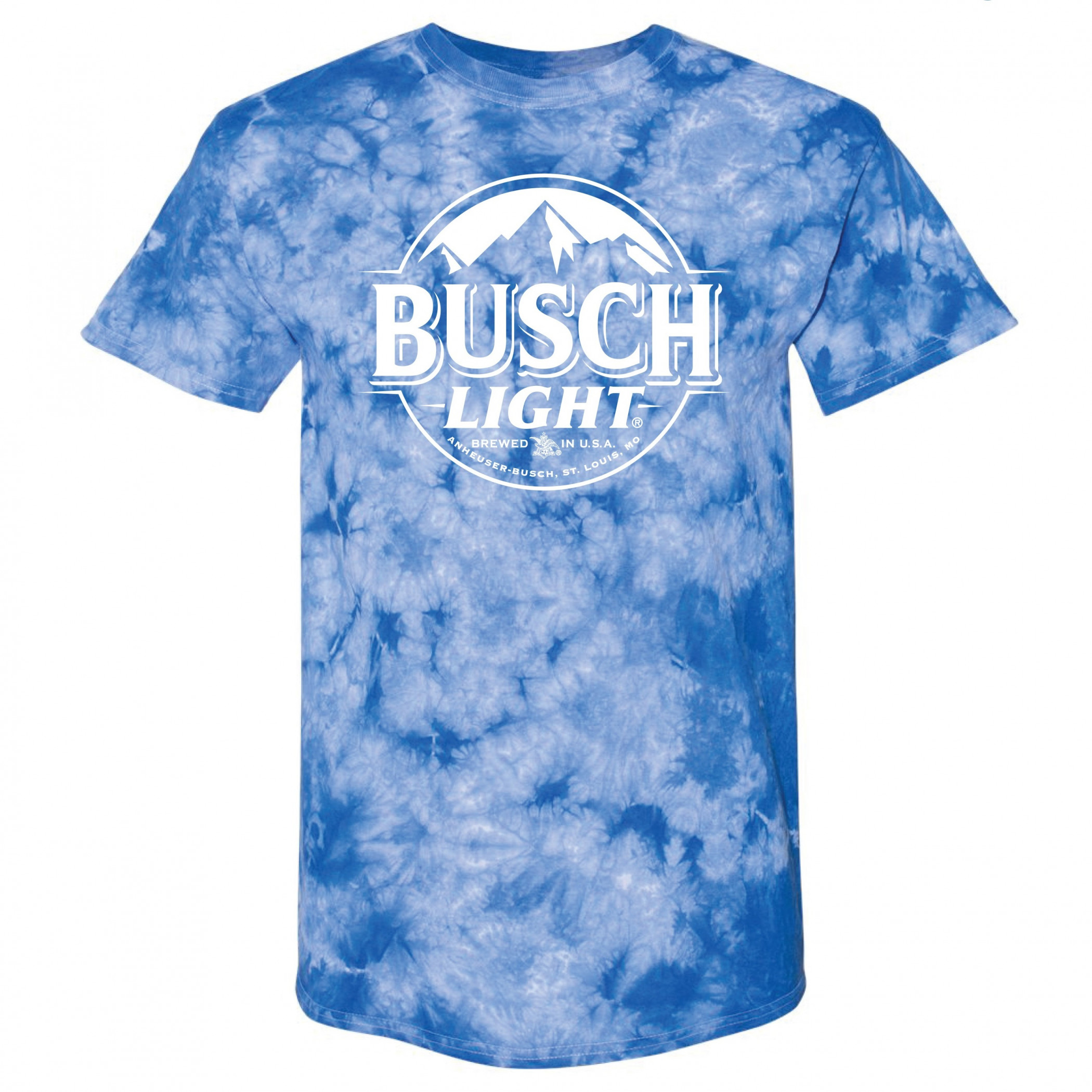 Busch Light Tie Dye T-Shirt