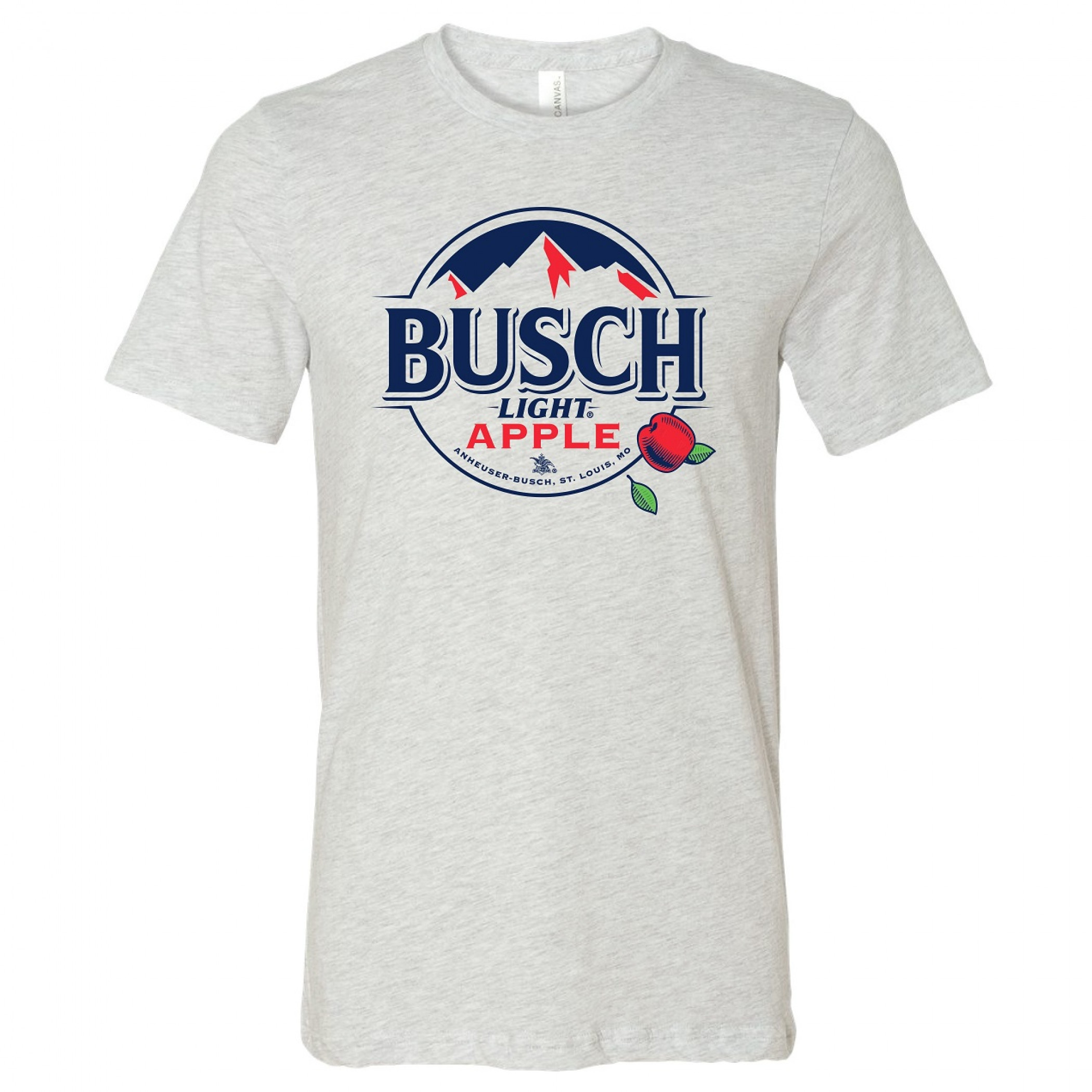 Busch Light Apple White Mountains Logo T-Shirt
