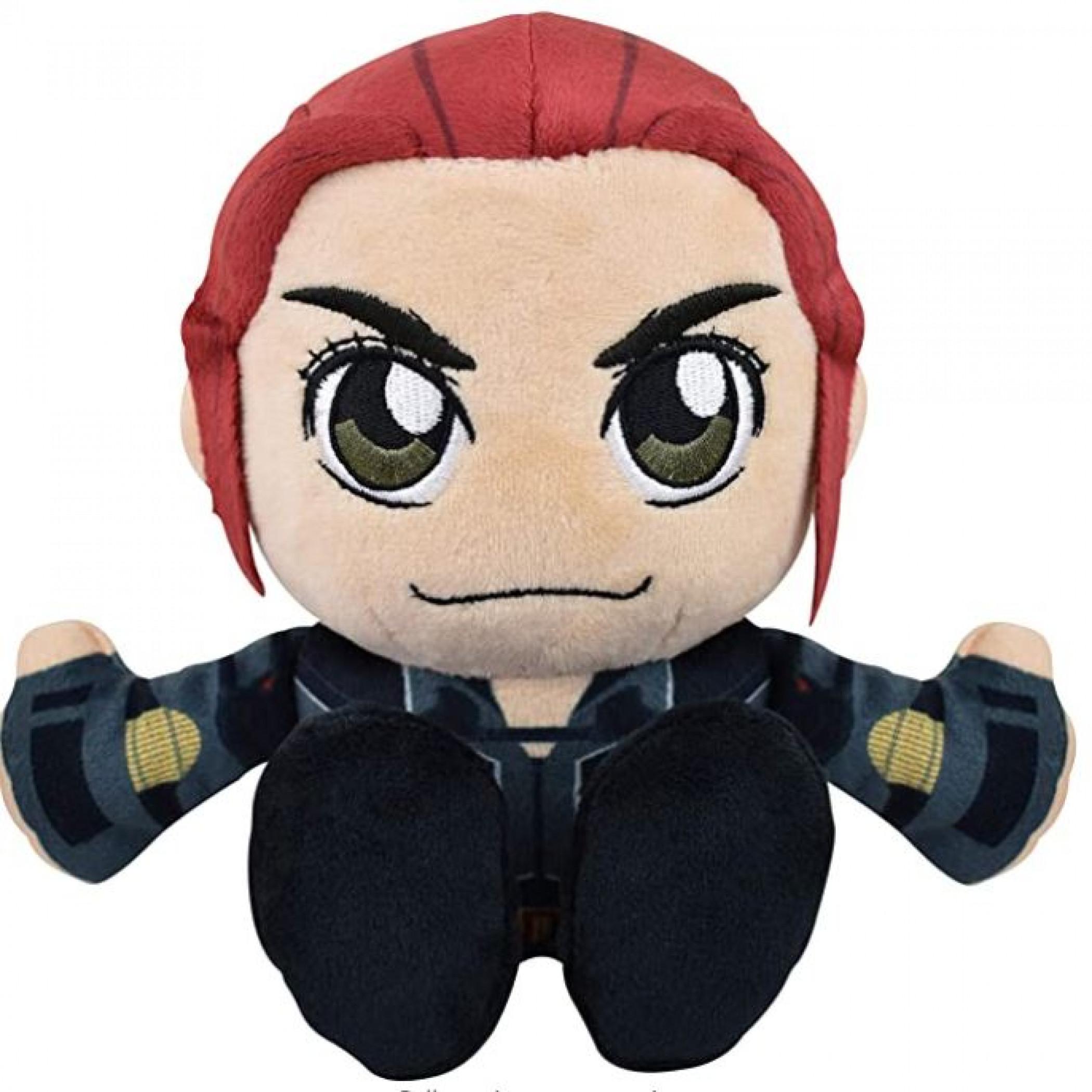Marvel Black Widow 8 Inch Kuricha Sitting Plush Doll