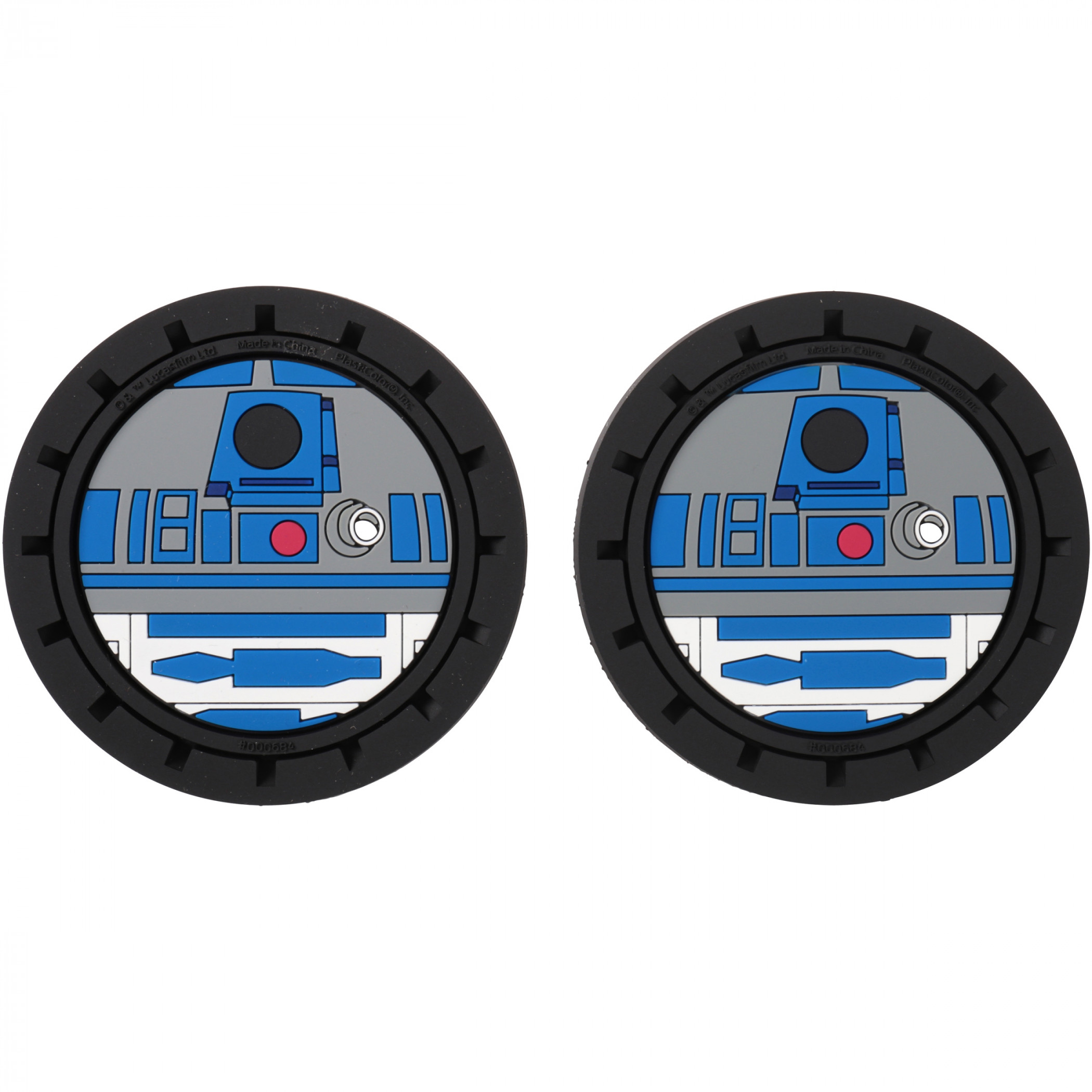 Star Wars R2-D2 Car Cup Holder Coaster 2-Pack