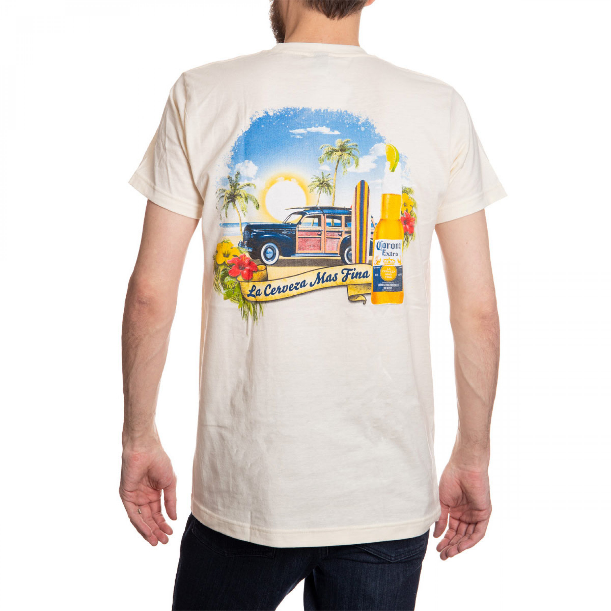 Corona Beach Wagon T-Shirt