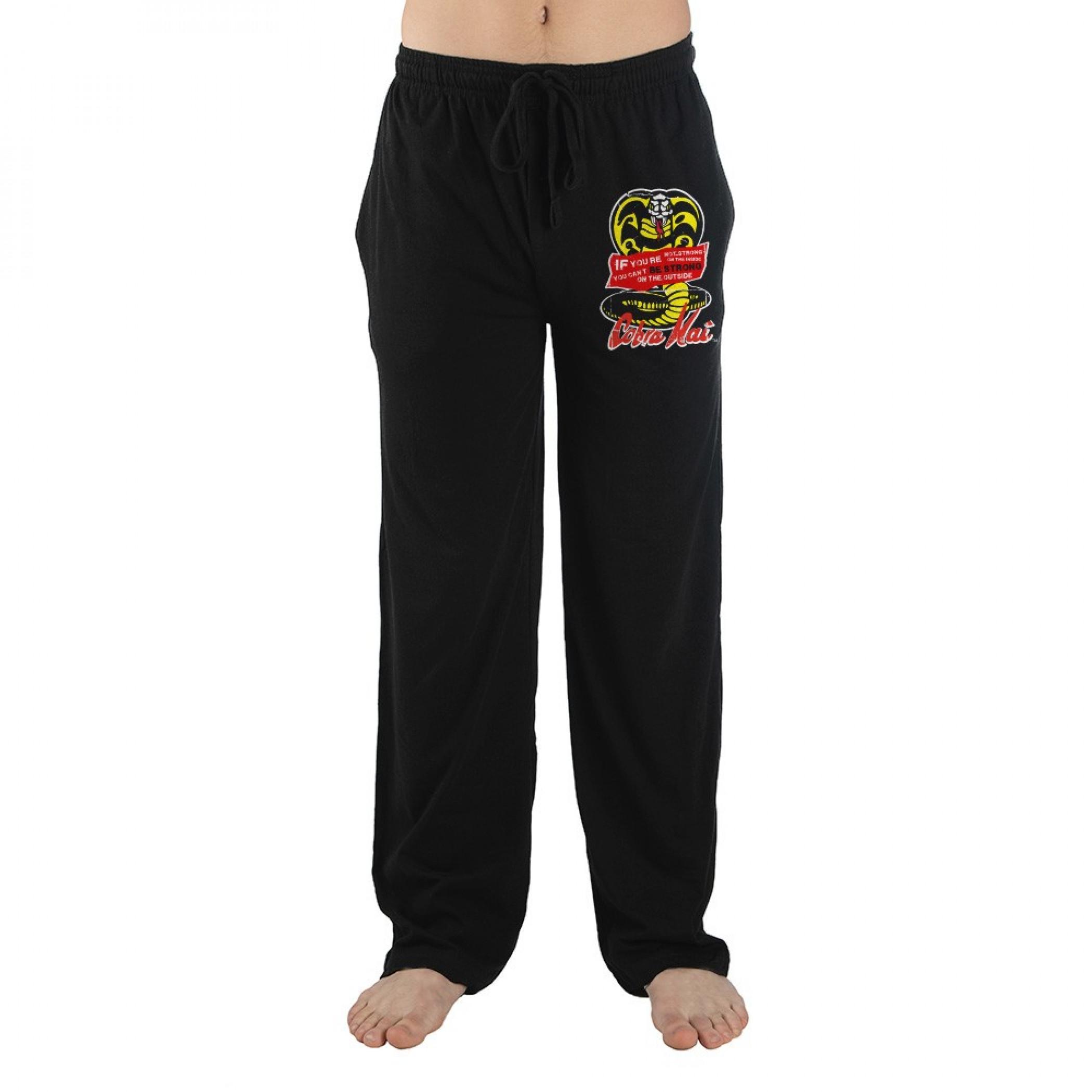 Cobra Kai Logo Pajama Sleep Pants