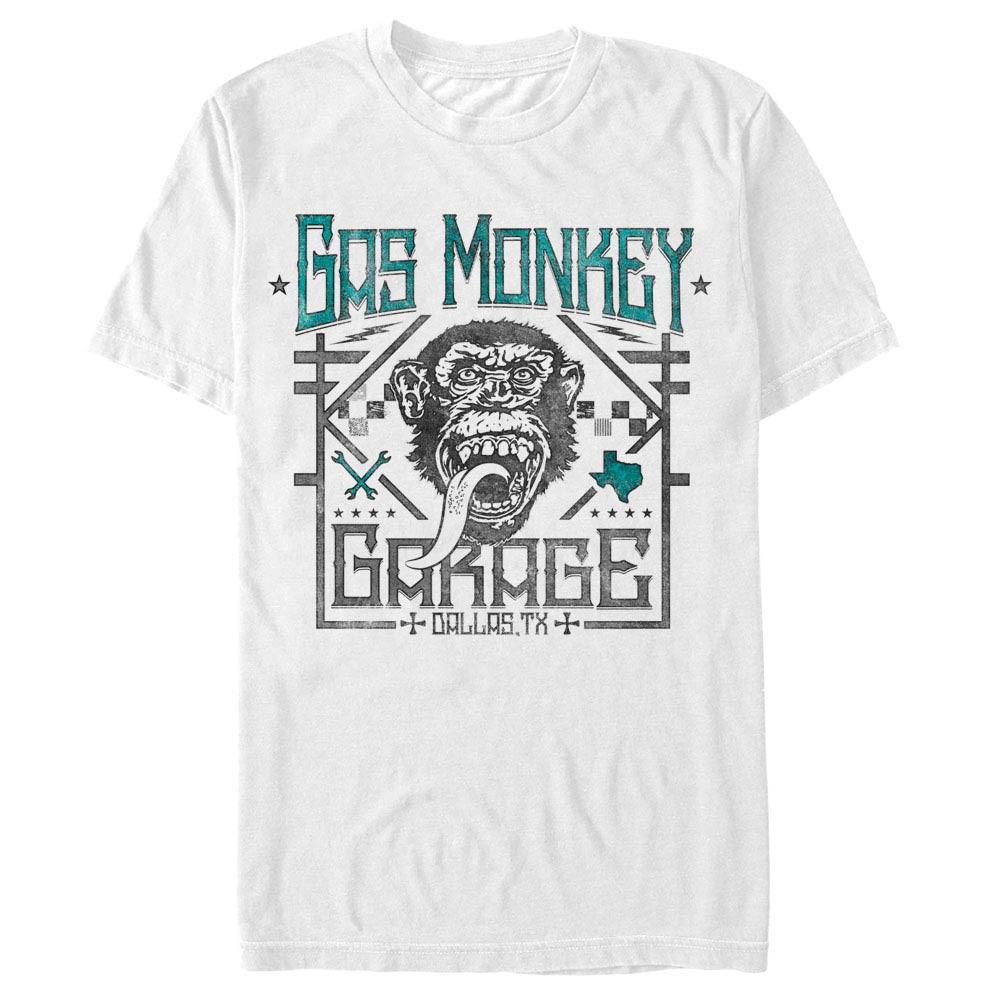 Gas Monkey Garage Elite White T-Shirt