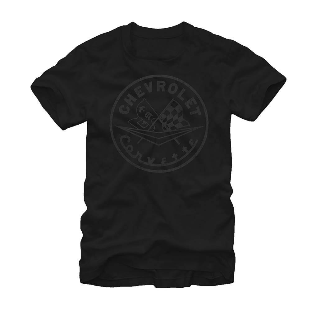 Chevrolet General Motors Vet Circle Black T-Shirt