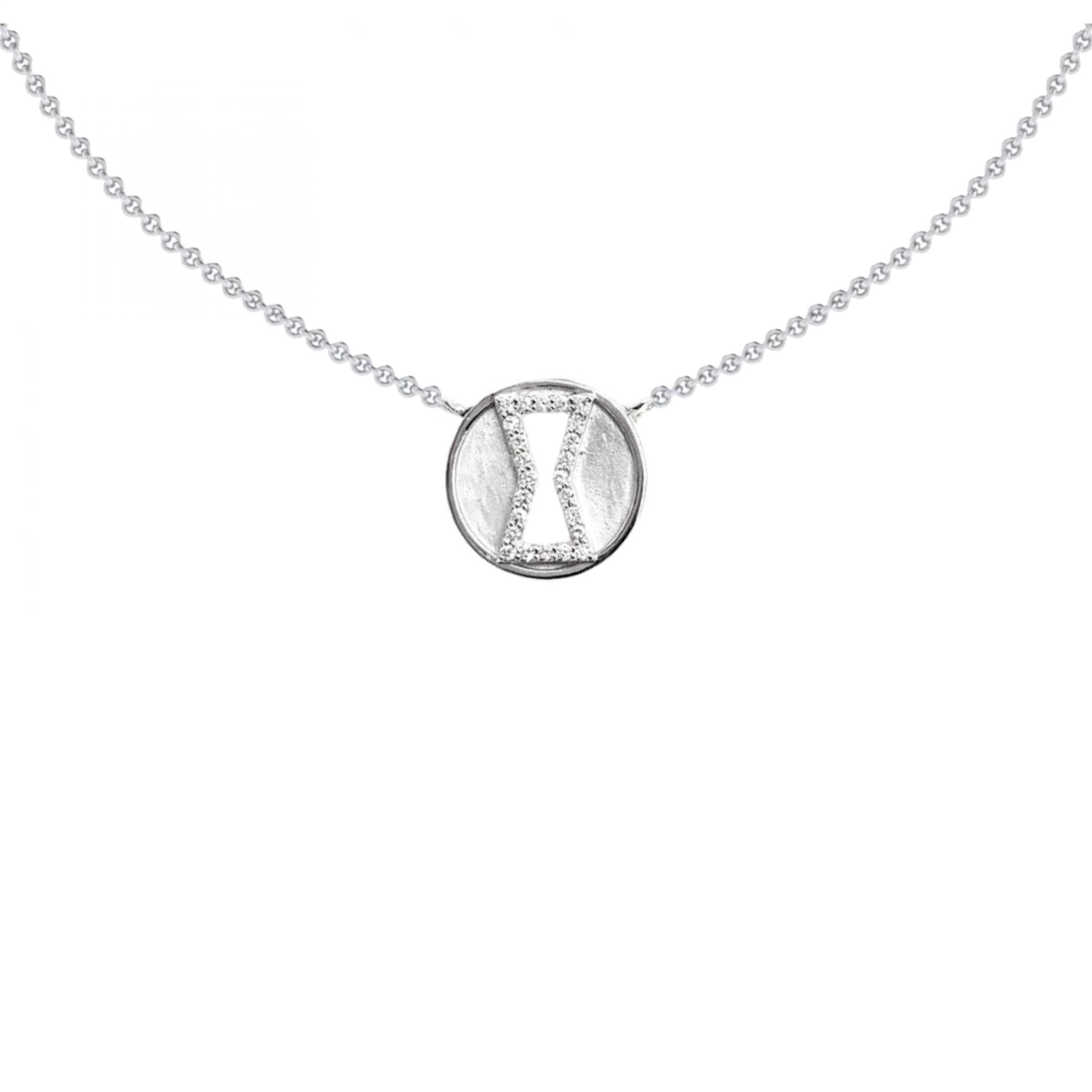 Marvel Black Widow Diamond Necklace