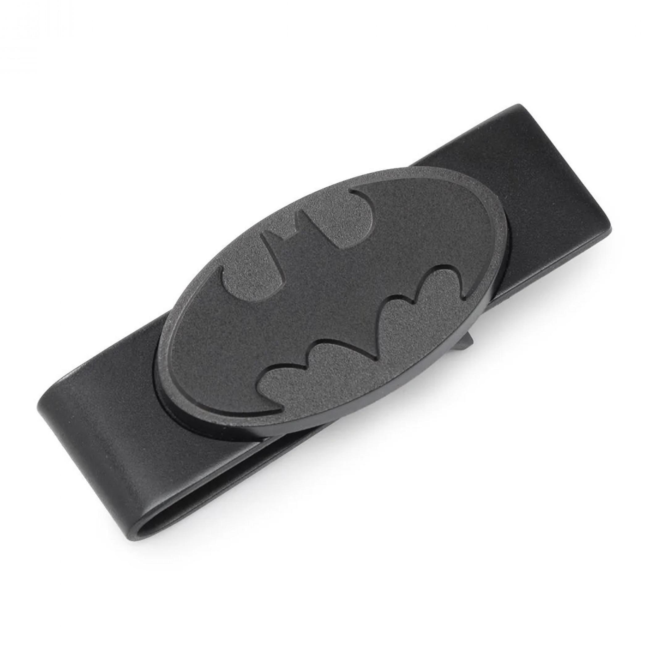 Batman DC Comics Satin-Finish Black Money Clip