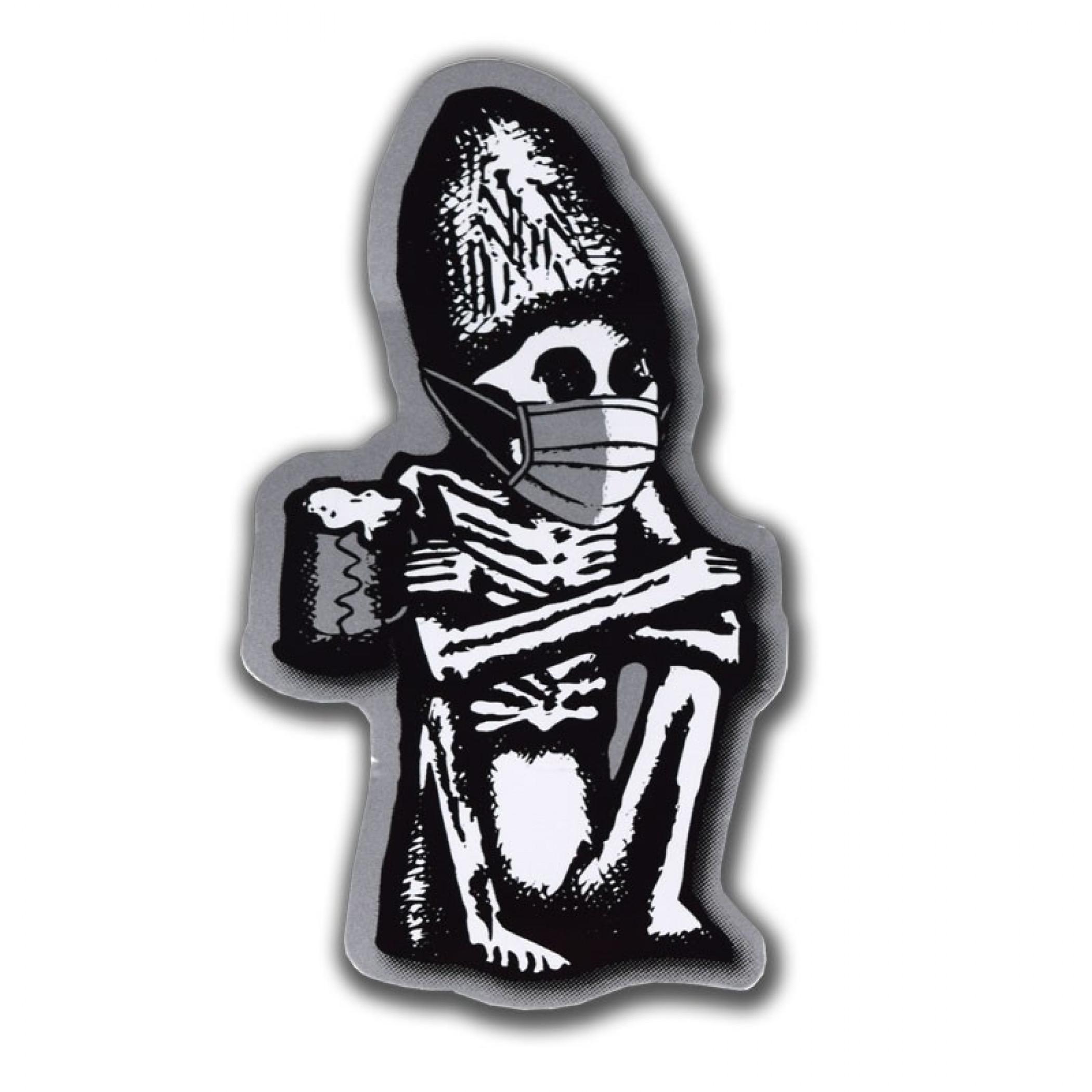 Dead Guy Ale Covid-19 Face Mask Sticker