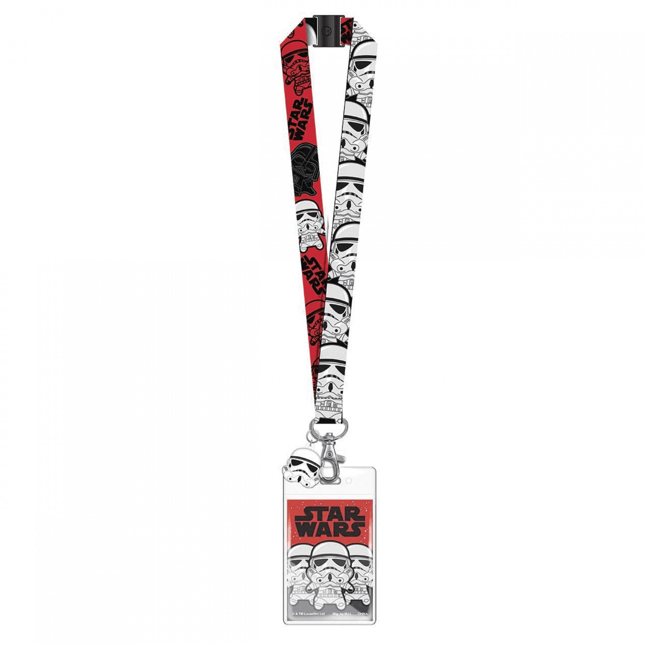 Star Wars Stormtroopers Lanyard with ID Badge Holder