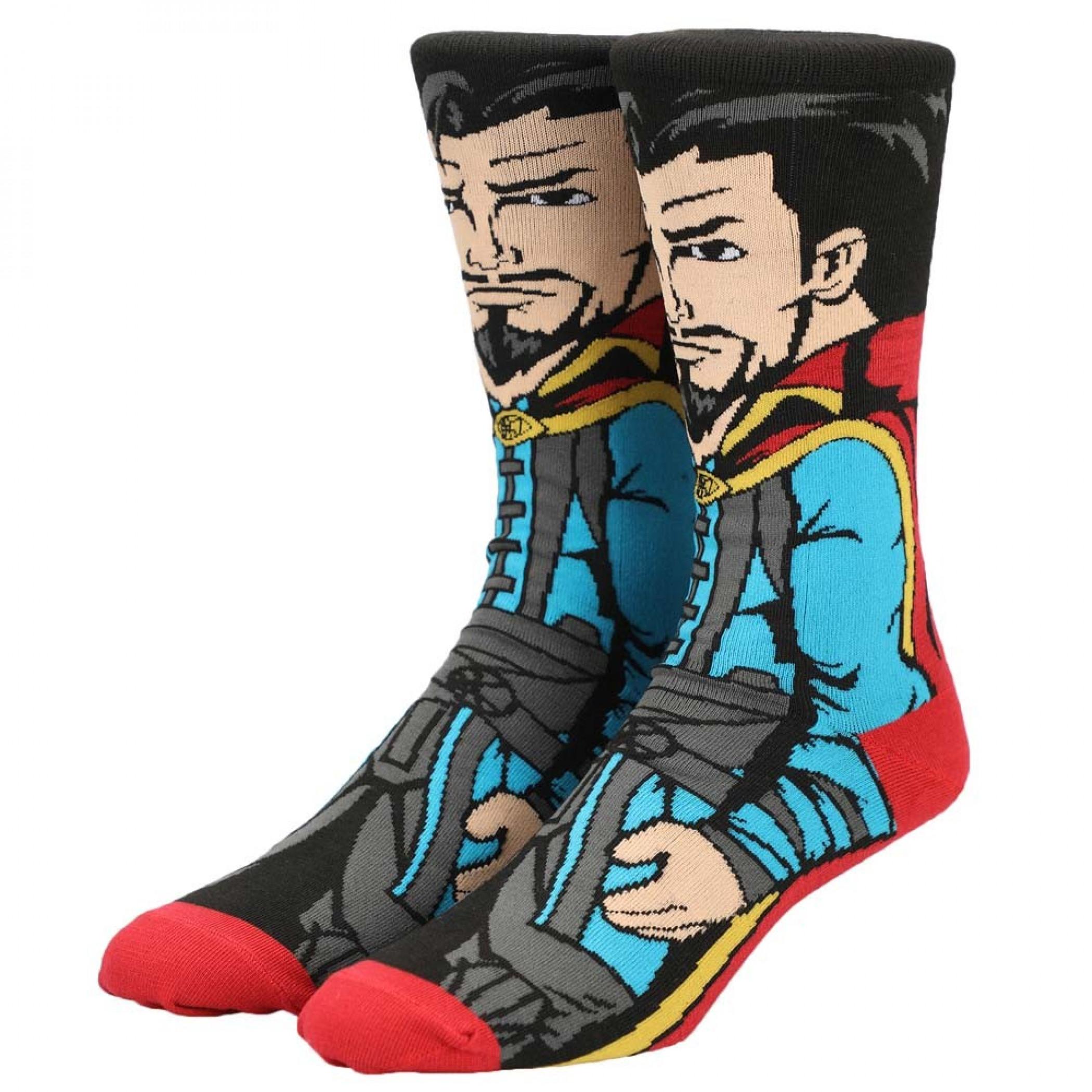 Marvel Dr. Strange 360 Character Crew Sock