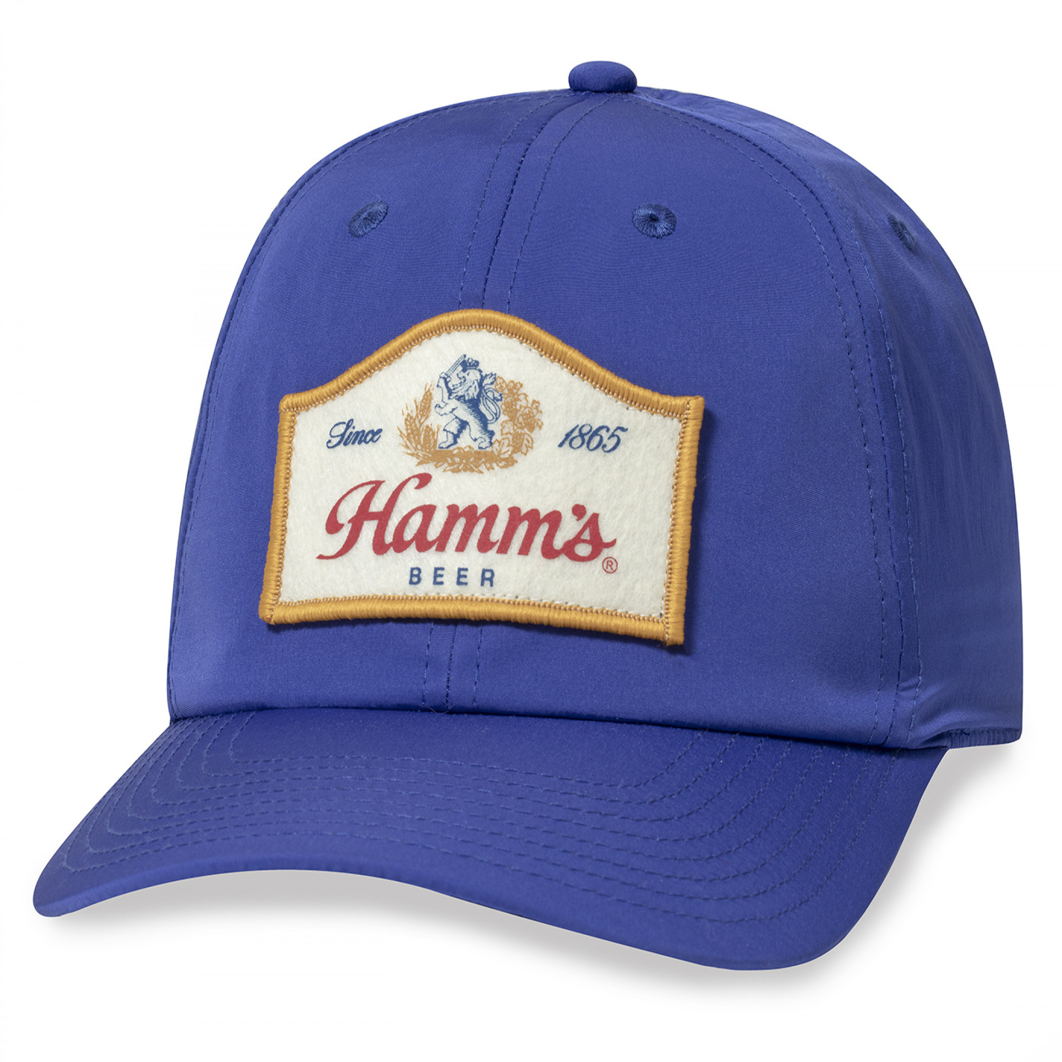 Hamm's Beer Since 1865 Patch Hat