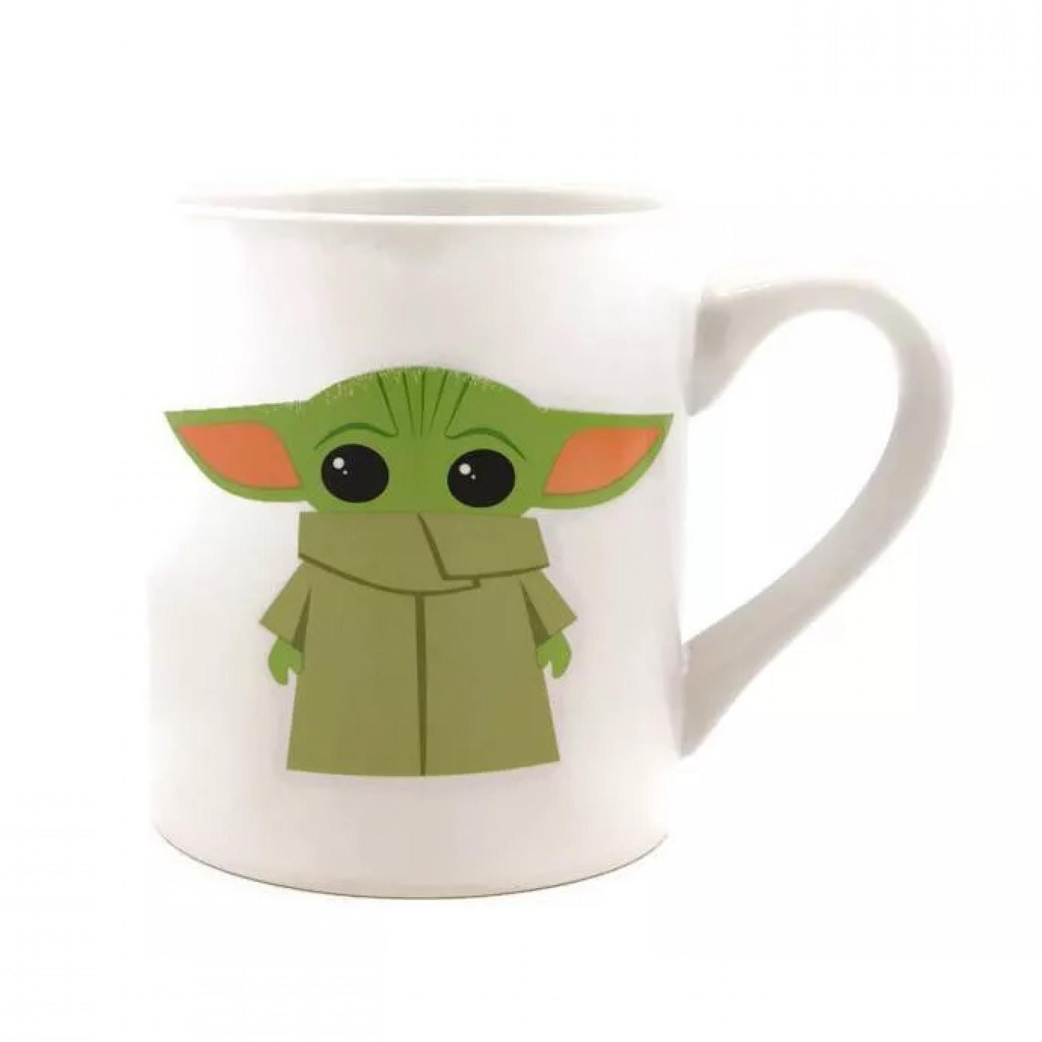 Star Wars The Mandalorian The Child Cute 14 Ounce Ceramic Mug