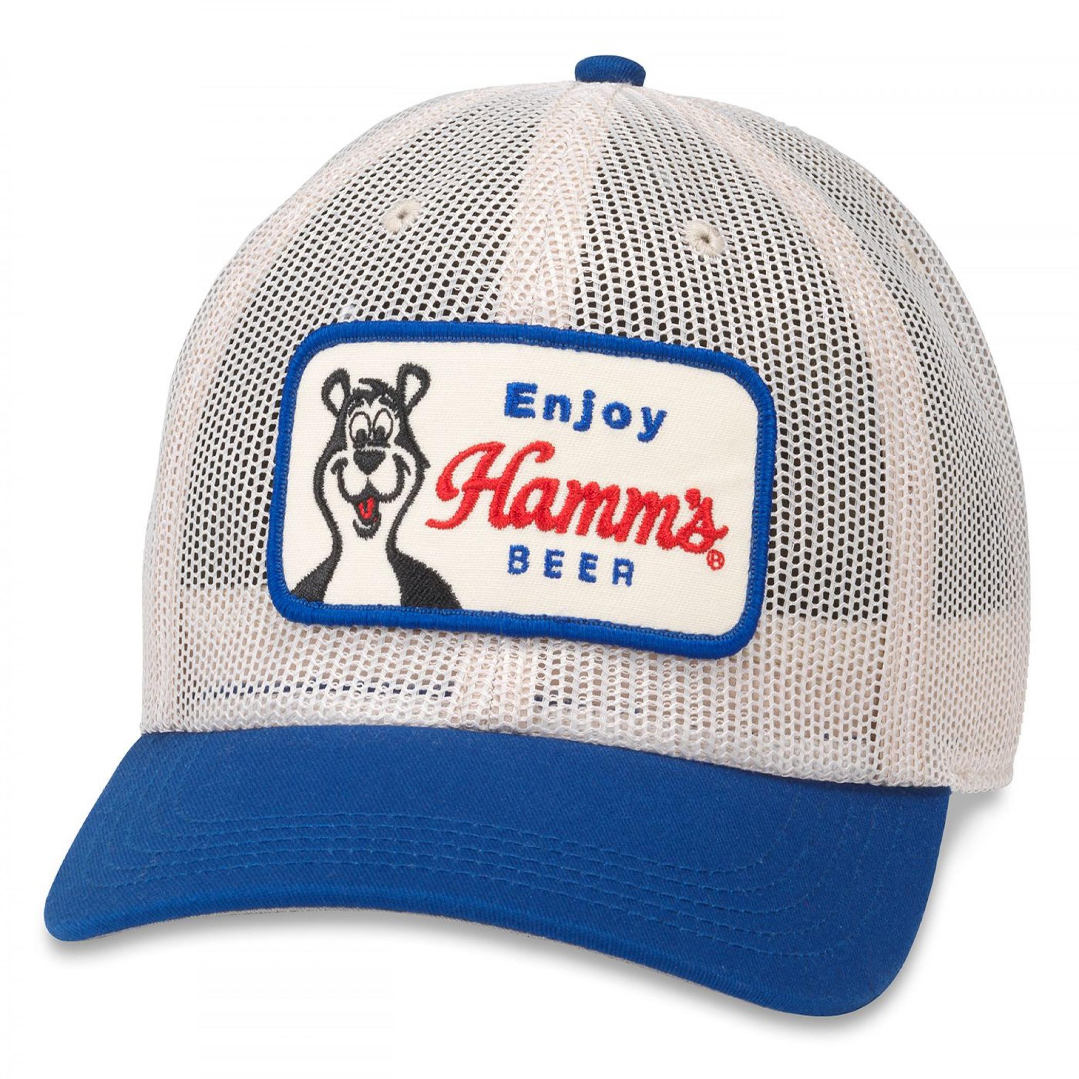 Hamm's Beer Enjoy Tucker Style Hat