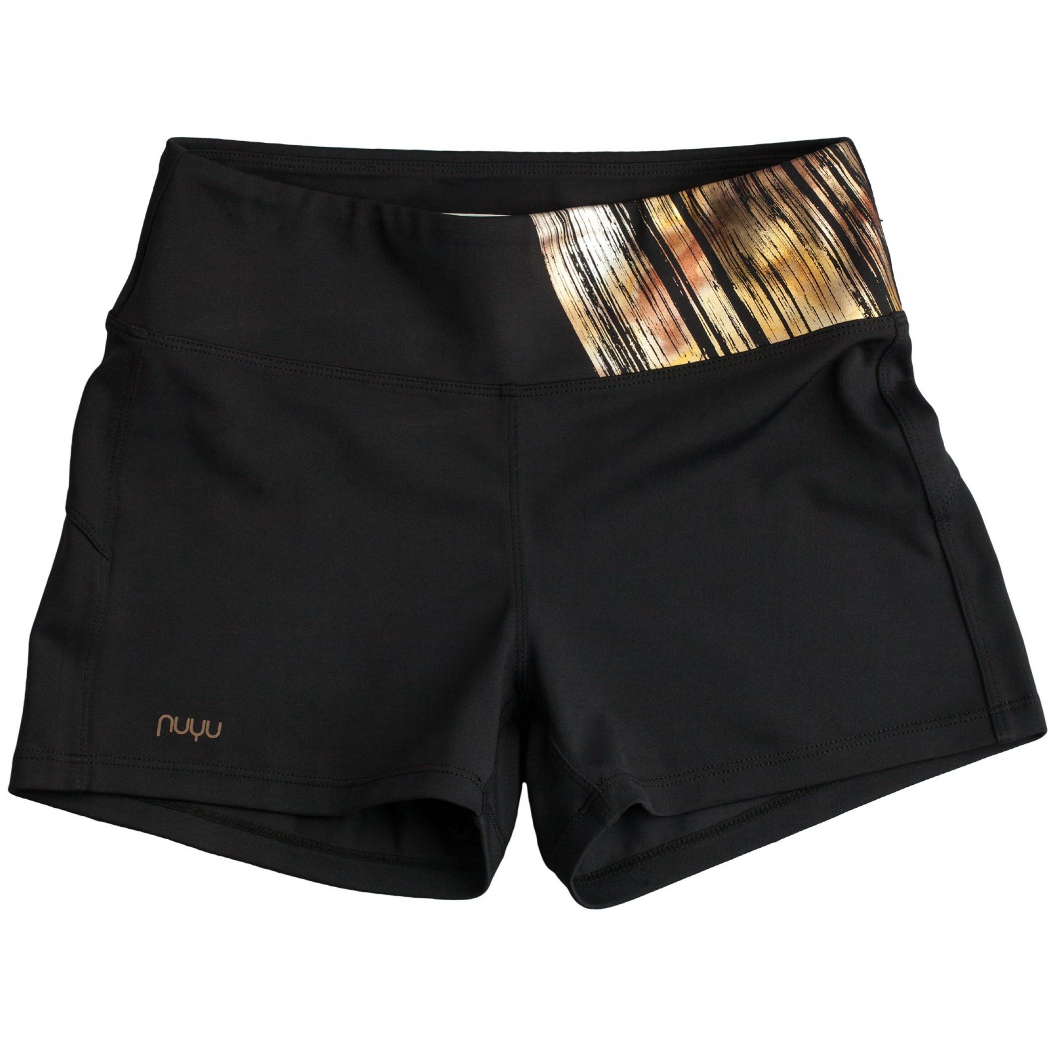 Wonder Woman Black and Gold Women's Shorts