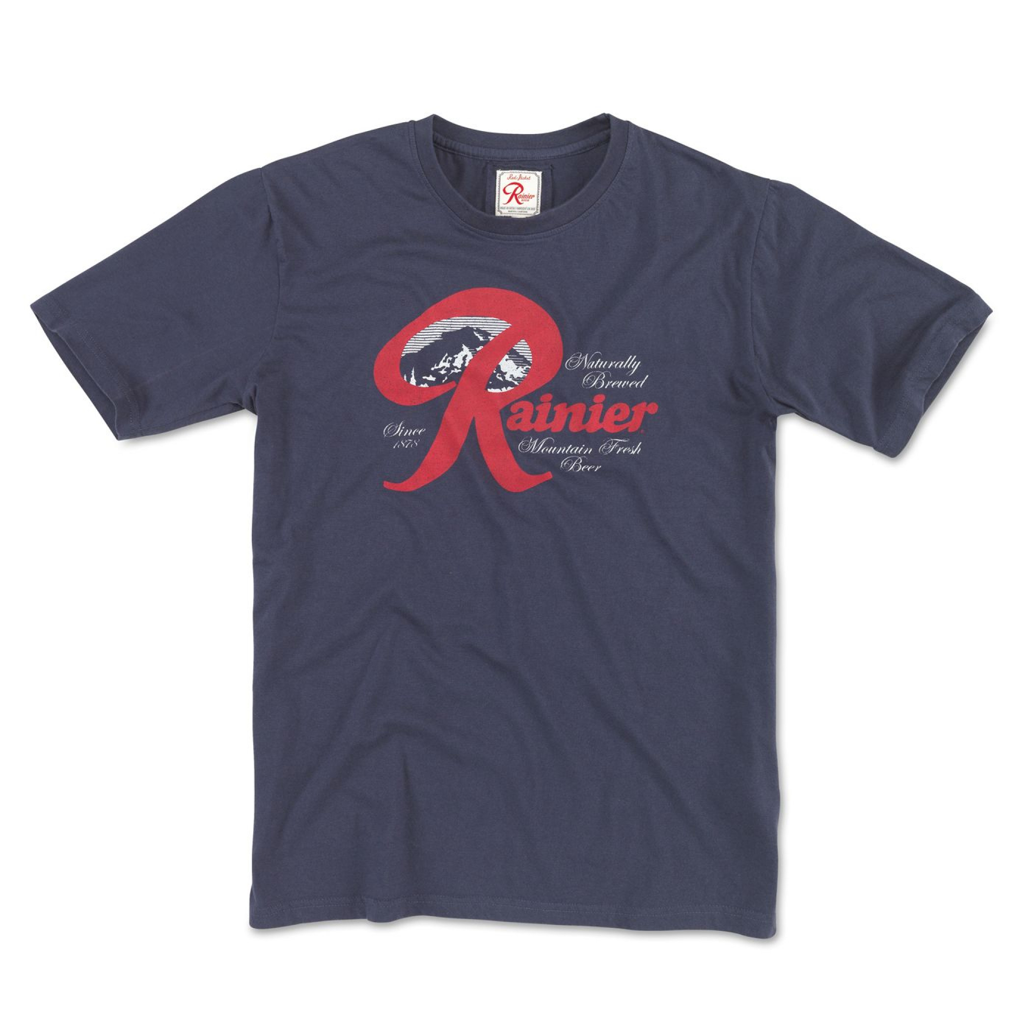 Rainier Naturally Brewed Classic Logo T-Shirt