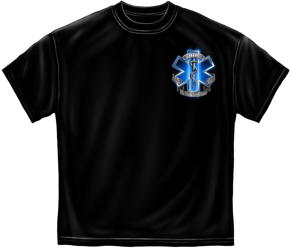 EMS Never Forget TShirt - Black