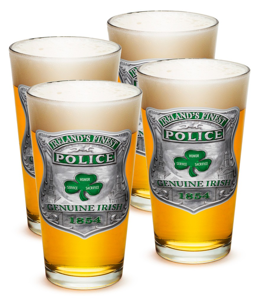 Ireland's Finest Police Pints Four Pack