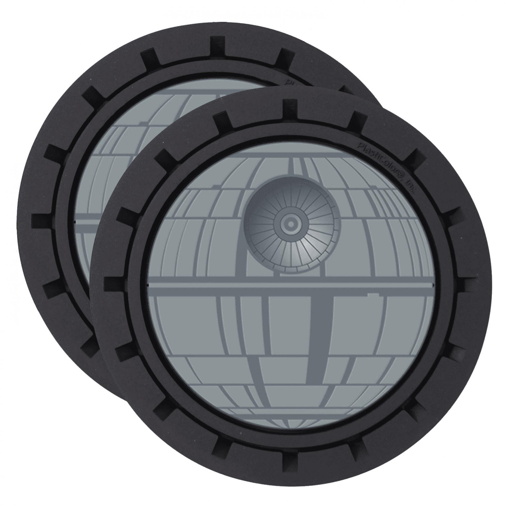 Star Wars Death Star Auto Car Coaster 2-Pack