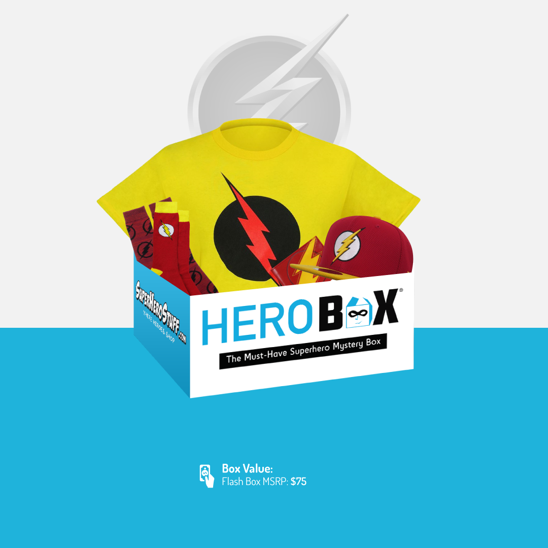 DC Comics The Flash HeroBox