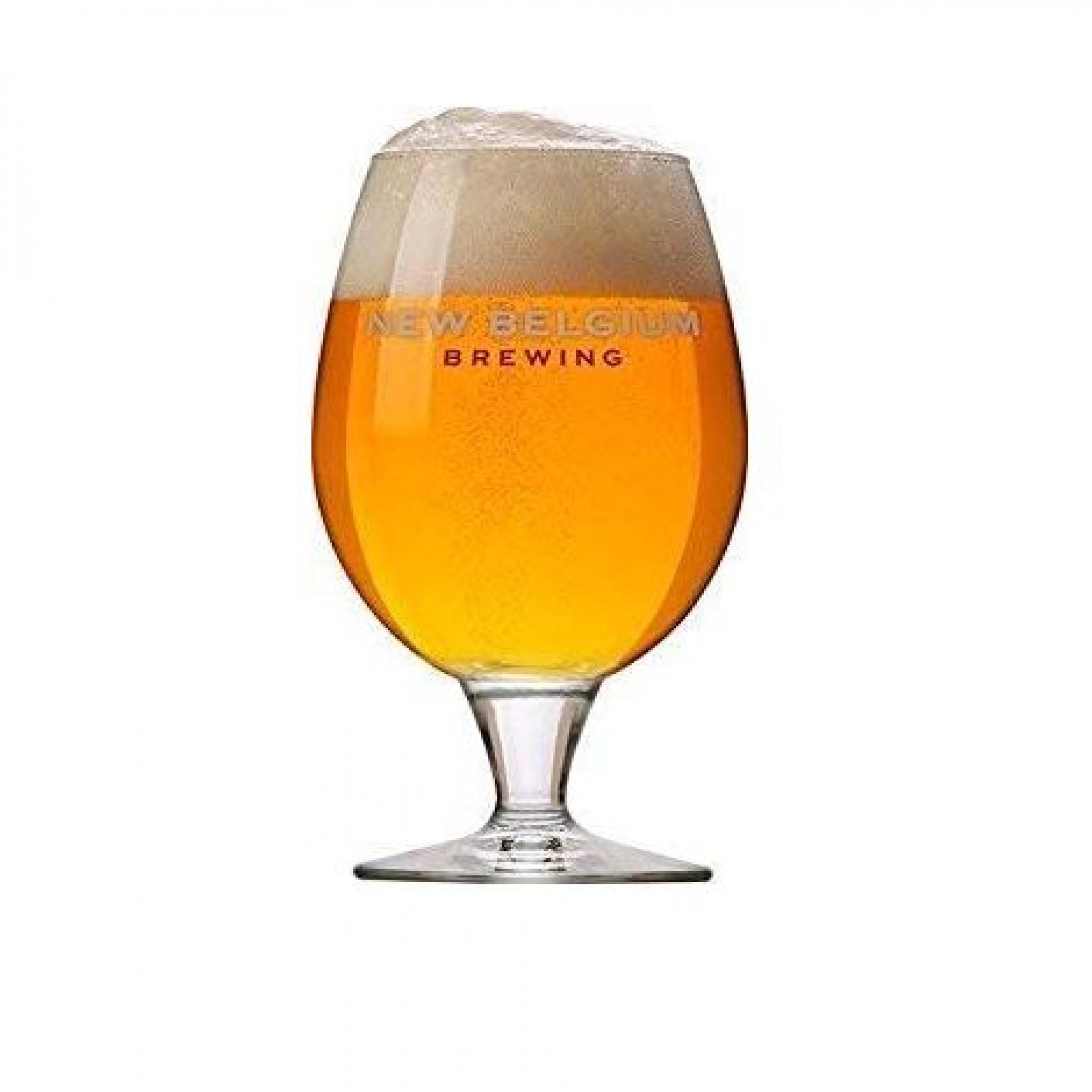 New Belgium Brewing Co. 16oz. Belgian Beer Glass 4-Pack