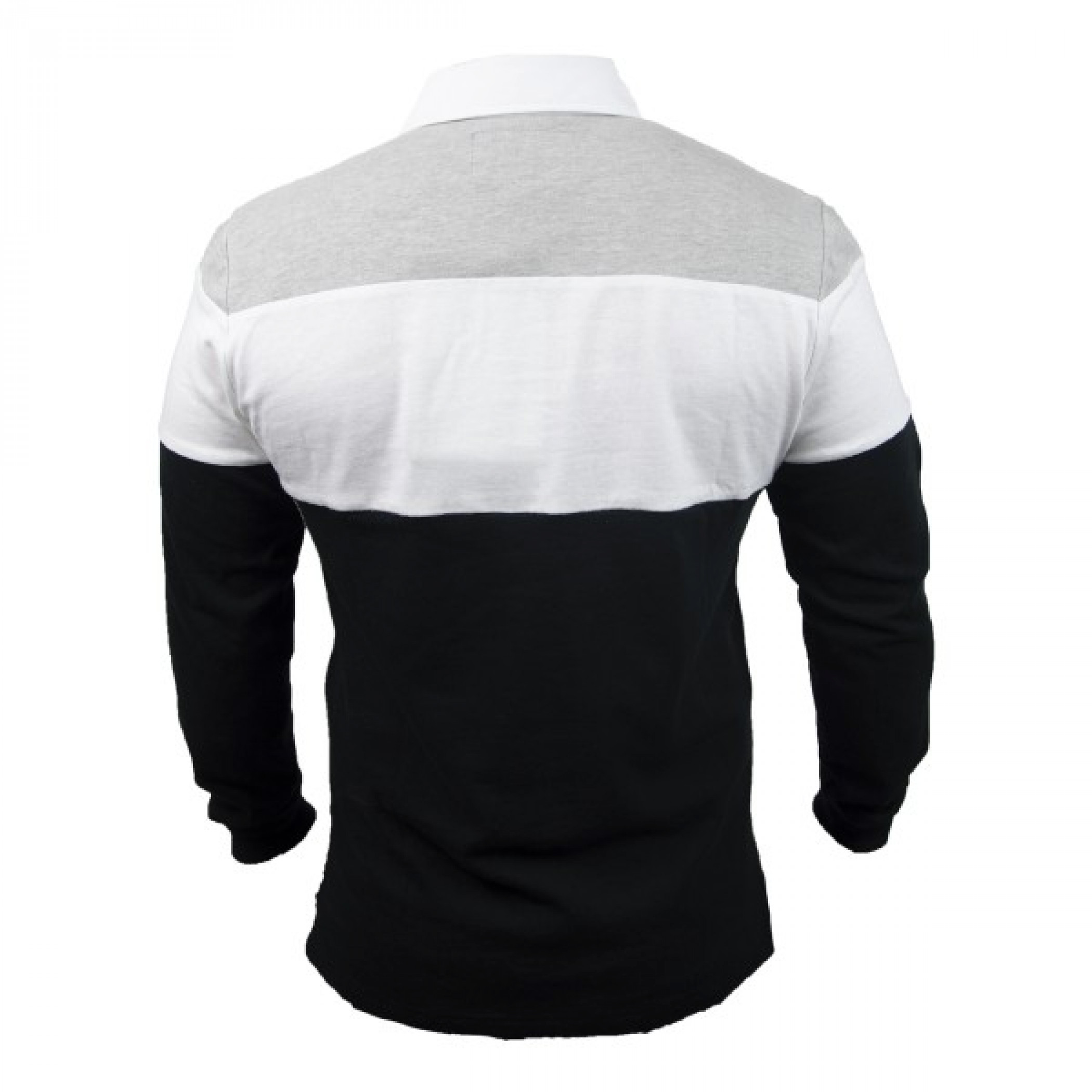 Guinness Black and White/Grey Toucan Rugby Long Sleeve Jersey