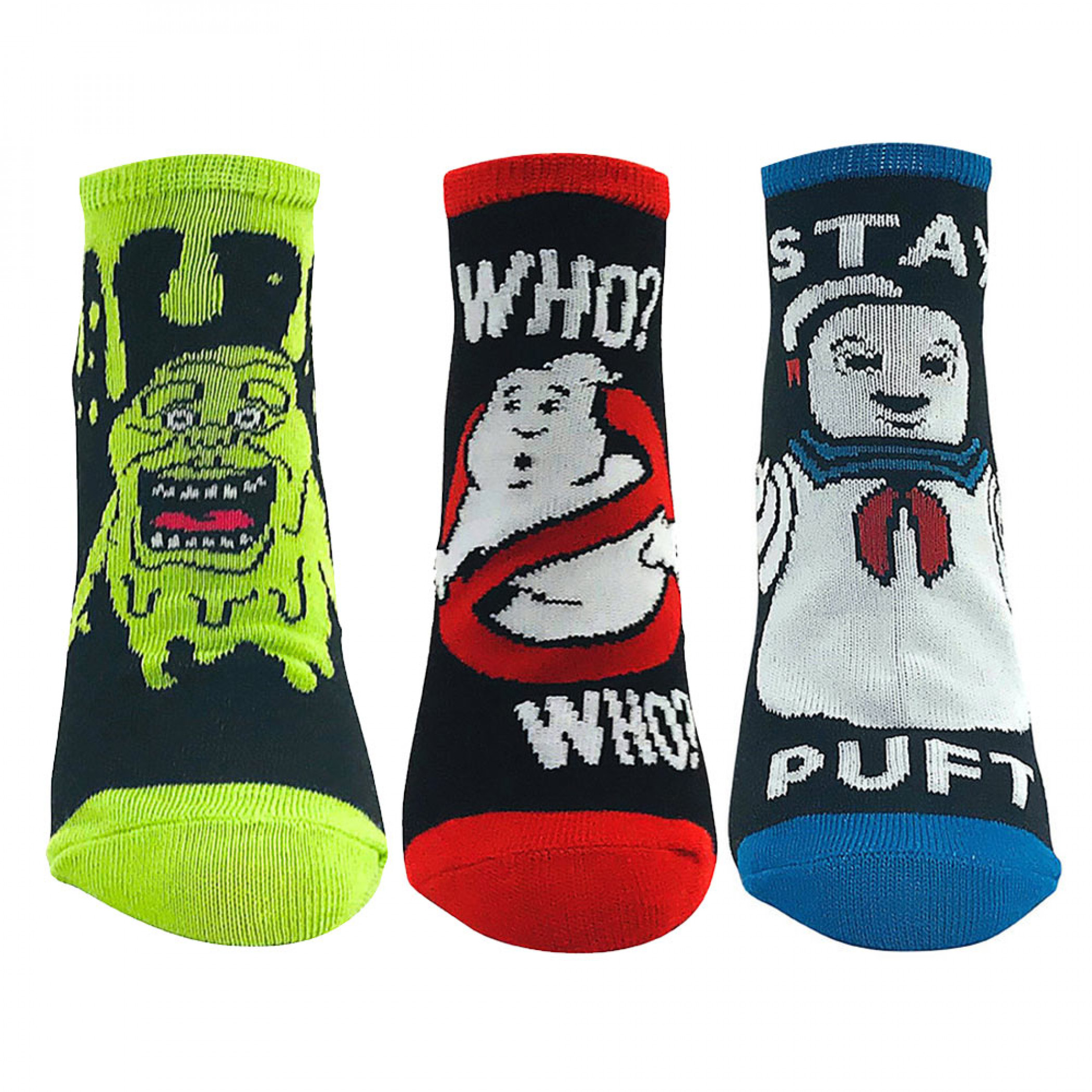 Ghostbusters 3-Pack Ankle Socks