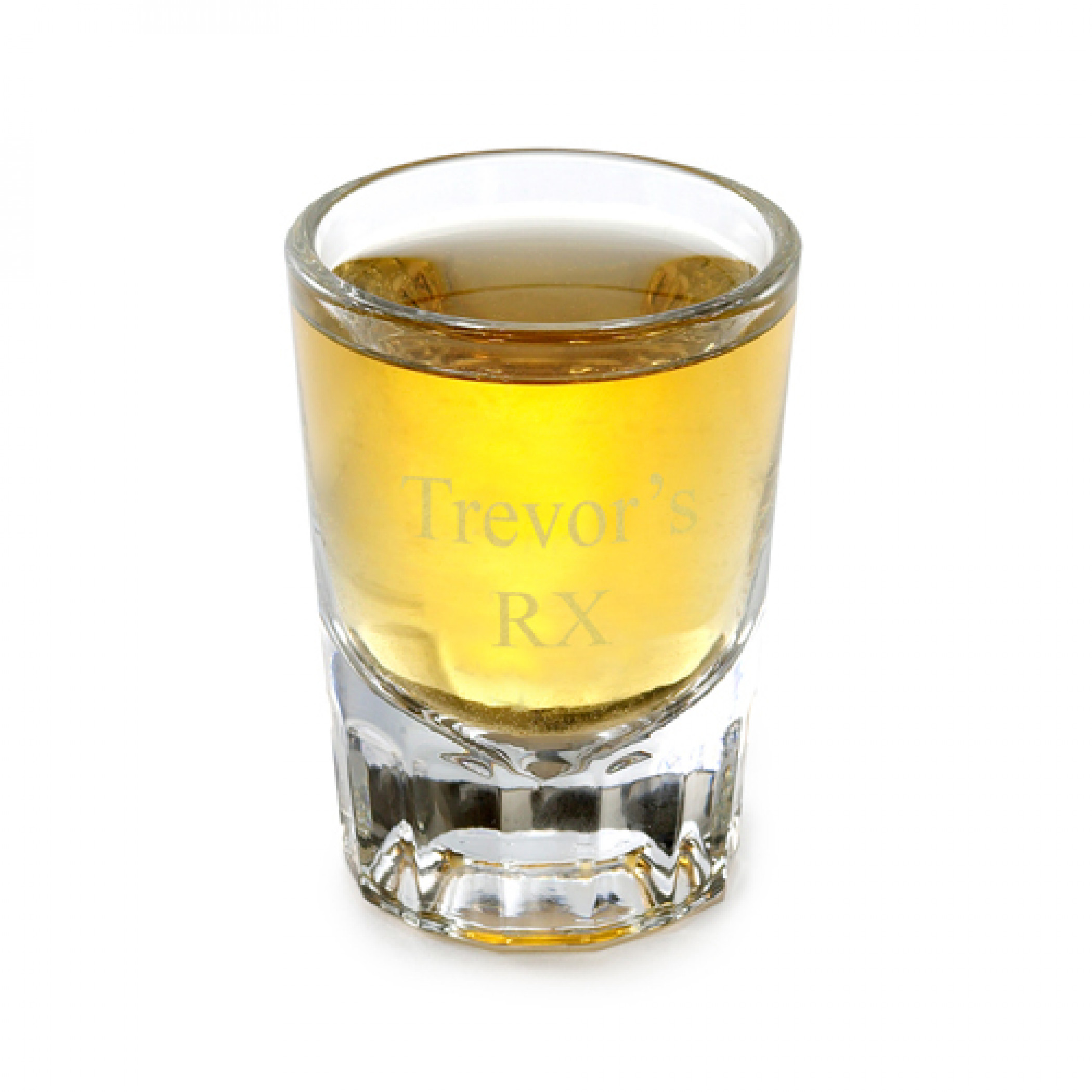 Personalized 2 Ounce Distinction Shot Glass