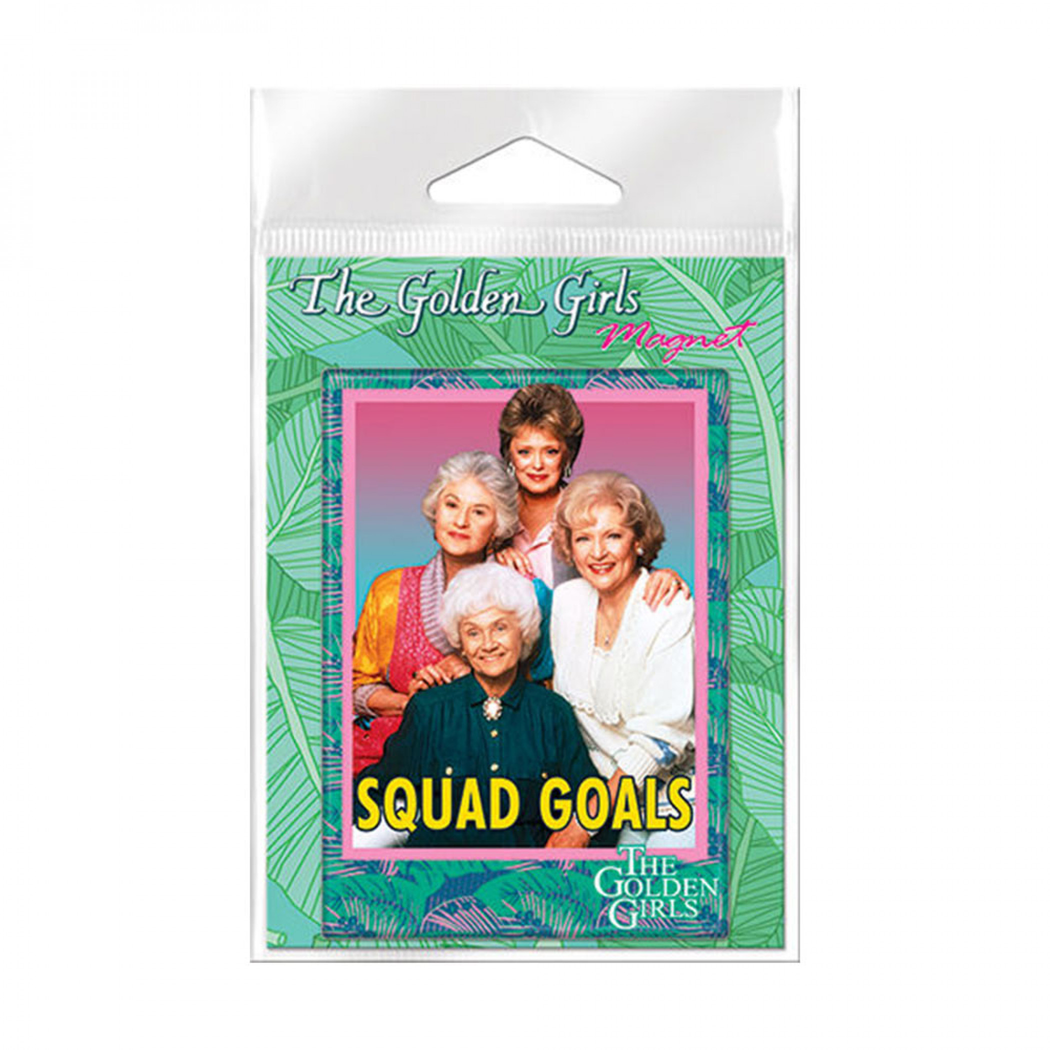 Golden Girls Squad Goals Carded Magnet