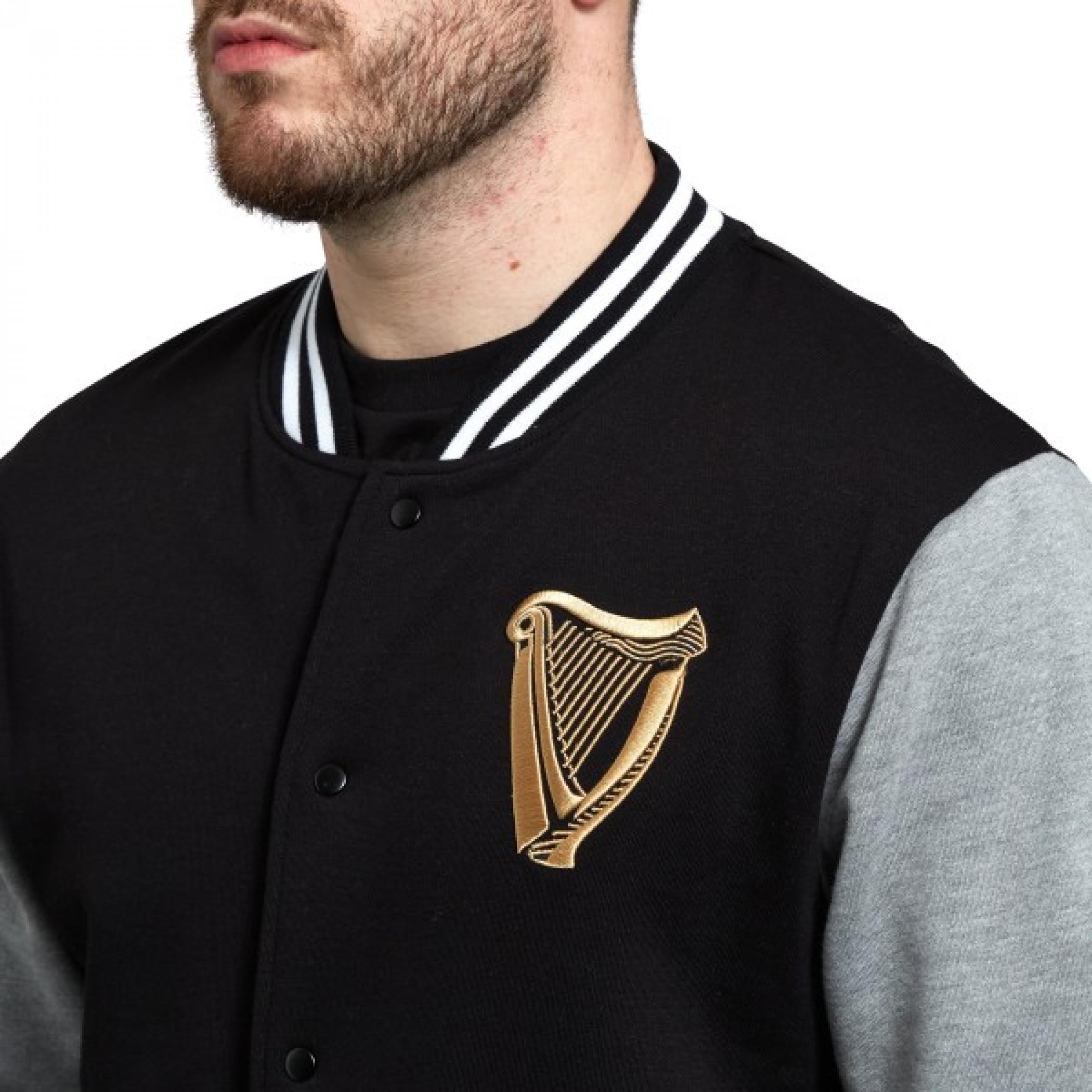 Guinness Harp Letterman Jacket