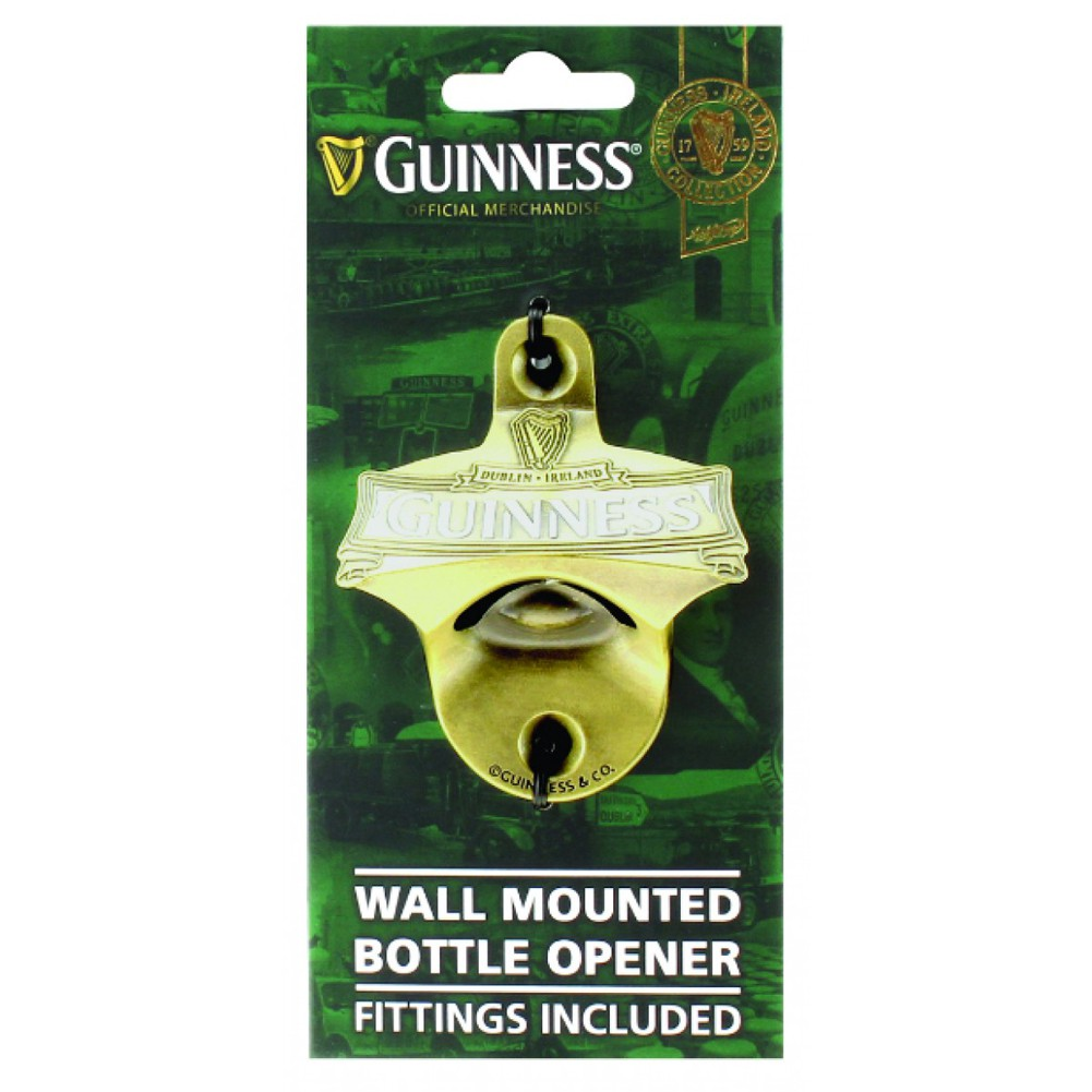 Guinness Ireland Wall Mounted Bottle Opener