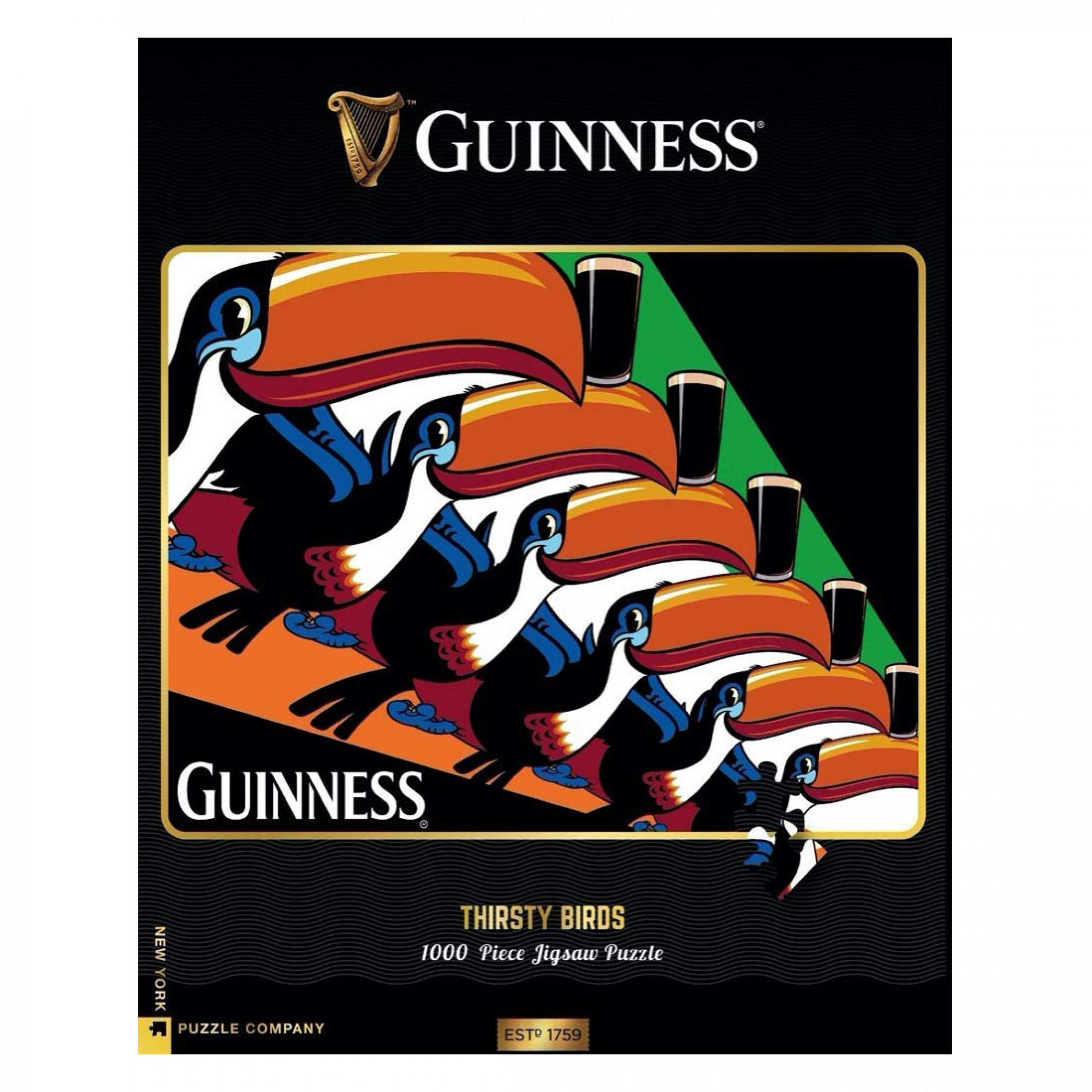 Guinness Vintage Toucans 1000 Piece Puzzle