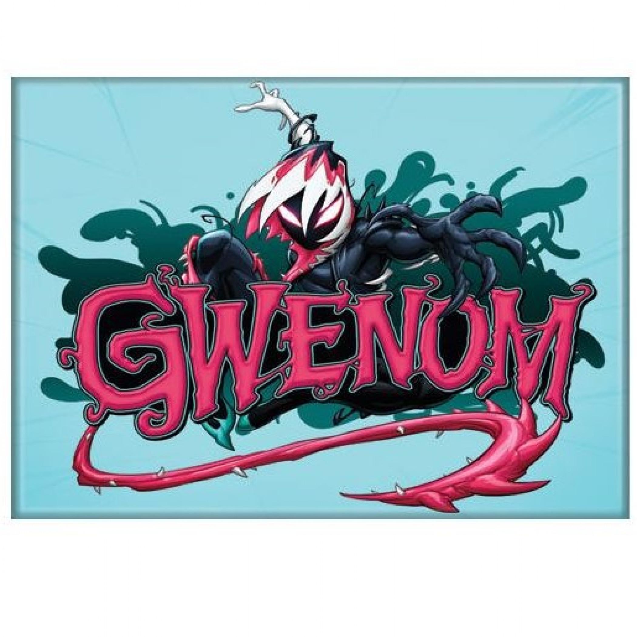 Gwenom Venom and Spider-Gwen Mashup Magnet