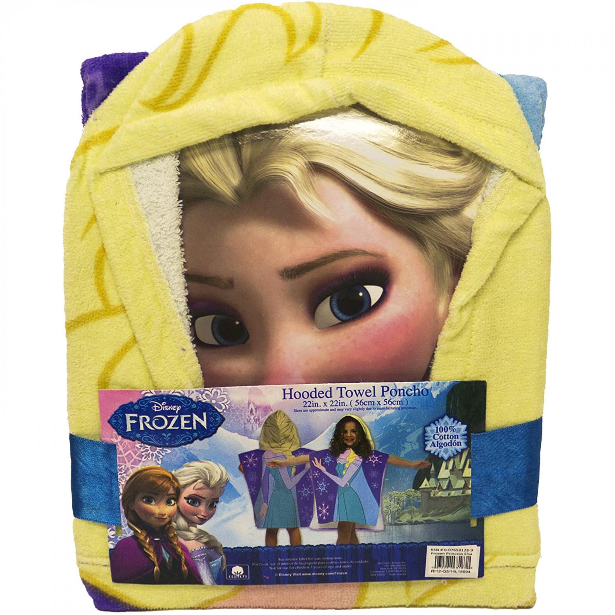 Disney Frozen Princess Elsa Hooded Poncho