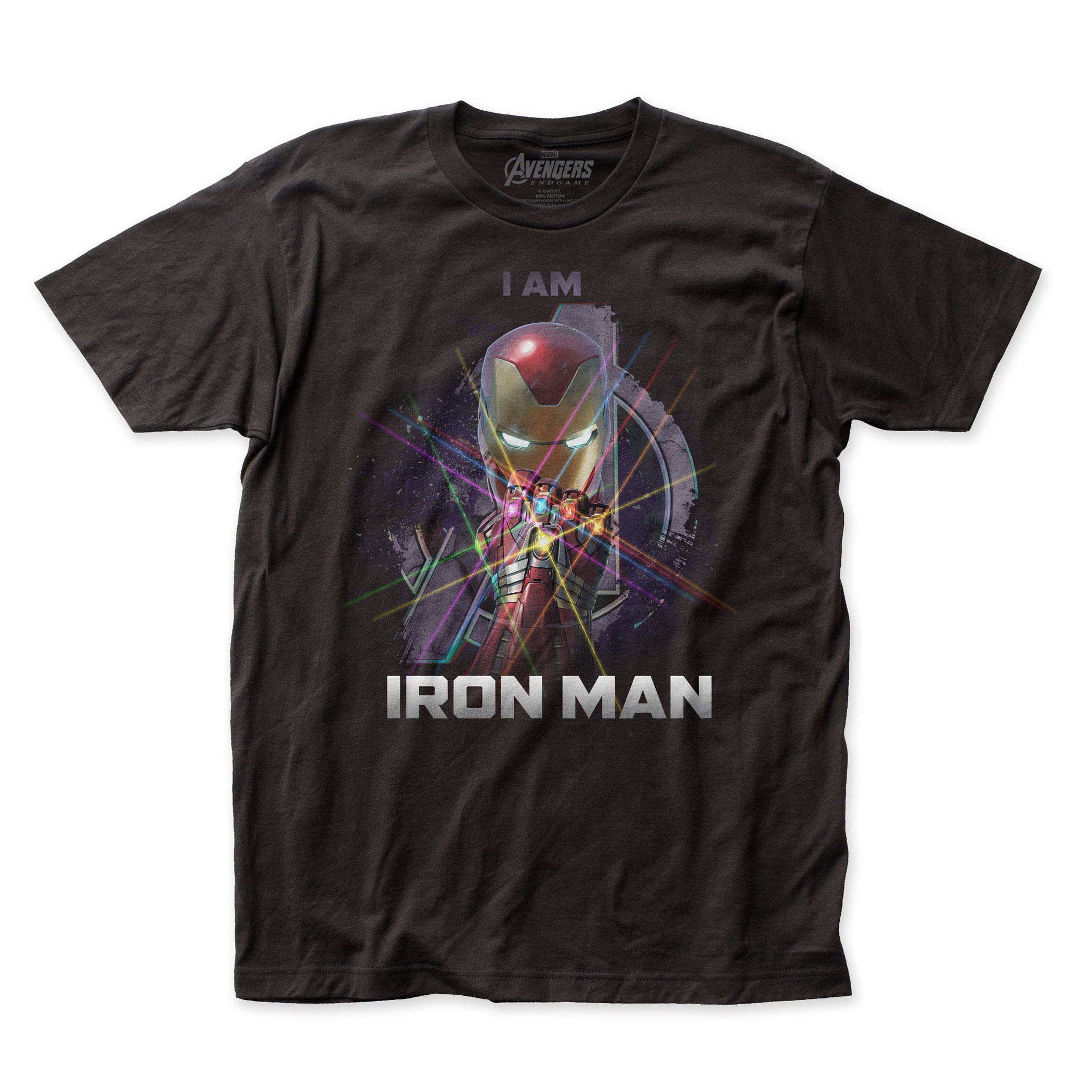 I Am Iron Man Avengers Endgame T-Shirt