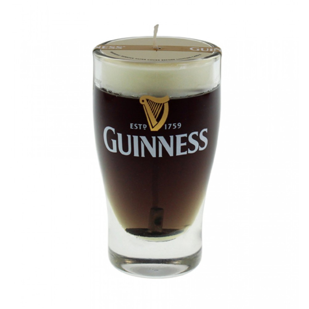 Guinness Mini Pint Candle